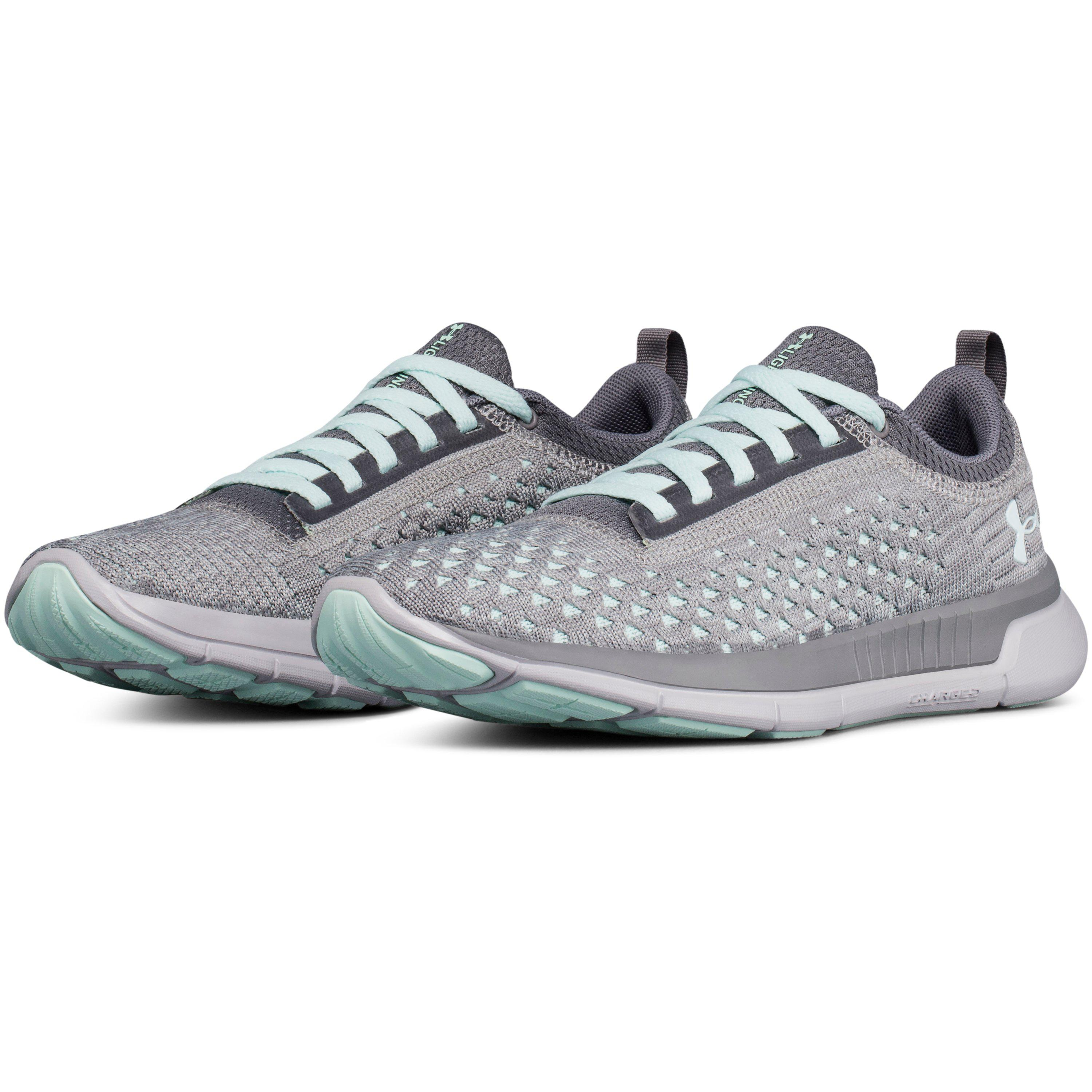 Lyst Under Armour Women S Ua Lightning 2 Running Shoes In Gray