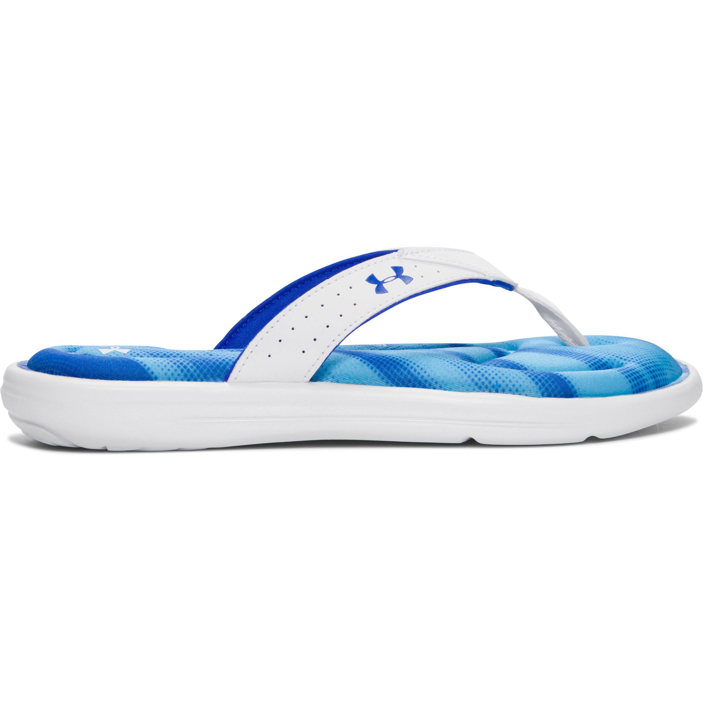 39cadd568750 Lyst - Under Armour Women s Ua Marbella Finisher V Sandals in Blue