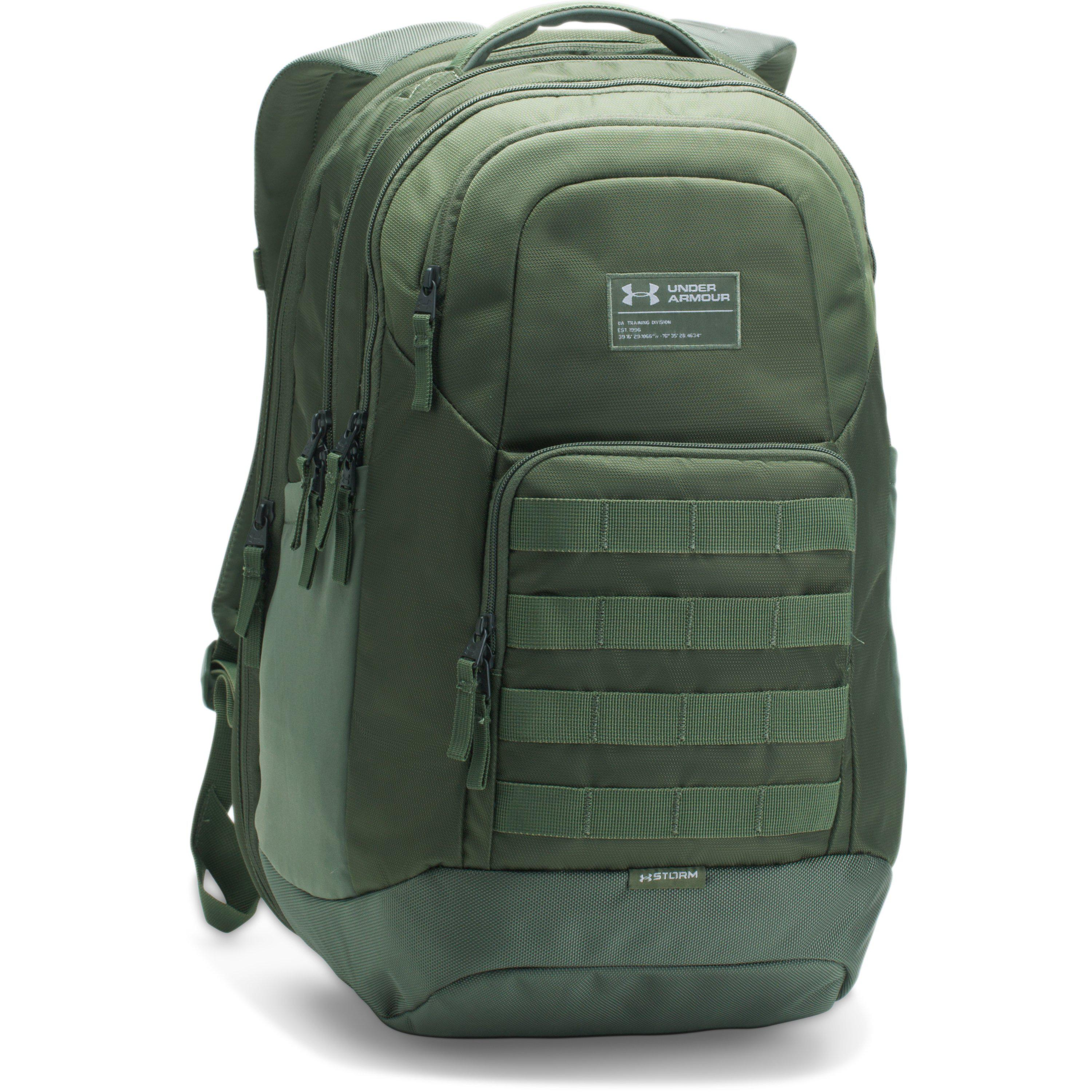 29dbc89a38 Lyst - Under Armour Ua Guardian Backpack in Green for Men