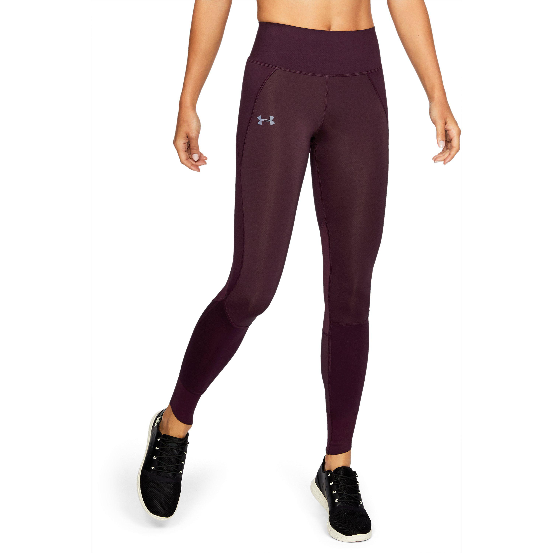 1601f64415c547 Under Armour Women's Coldgear® Reactor Leggings in Red - Lyst