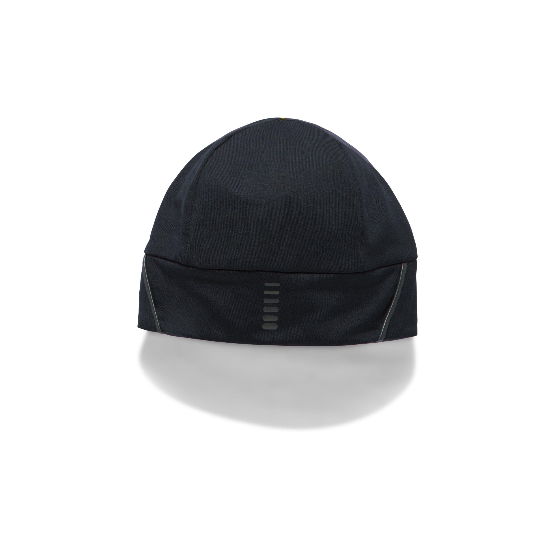 a97db897143 Lyst - Under Armour Men s Coldgear® Reactor Earbud Beanie in Black ...