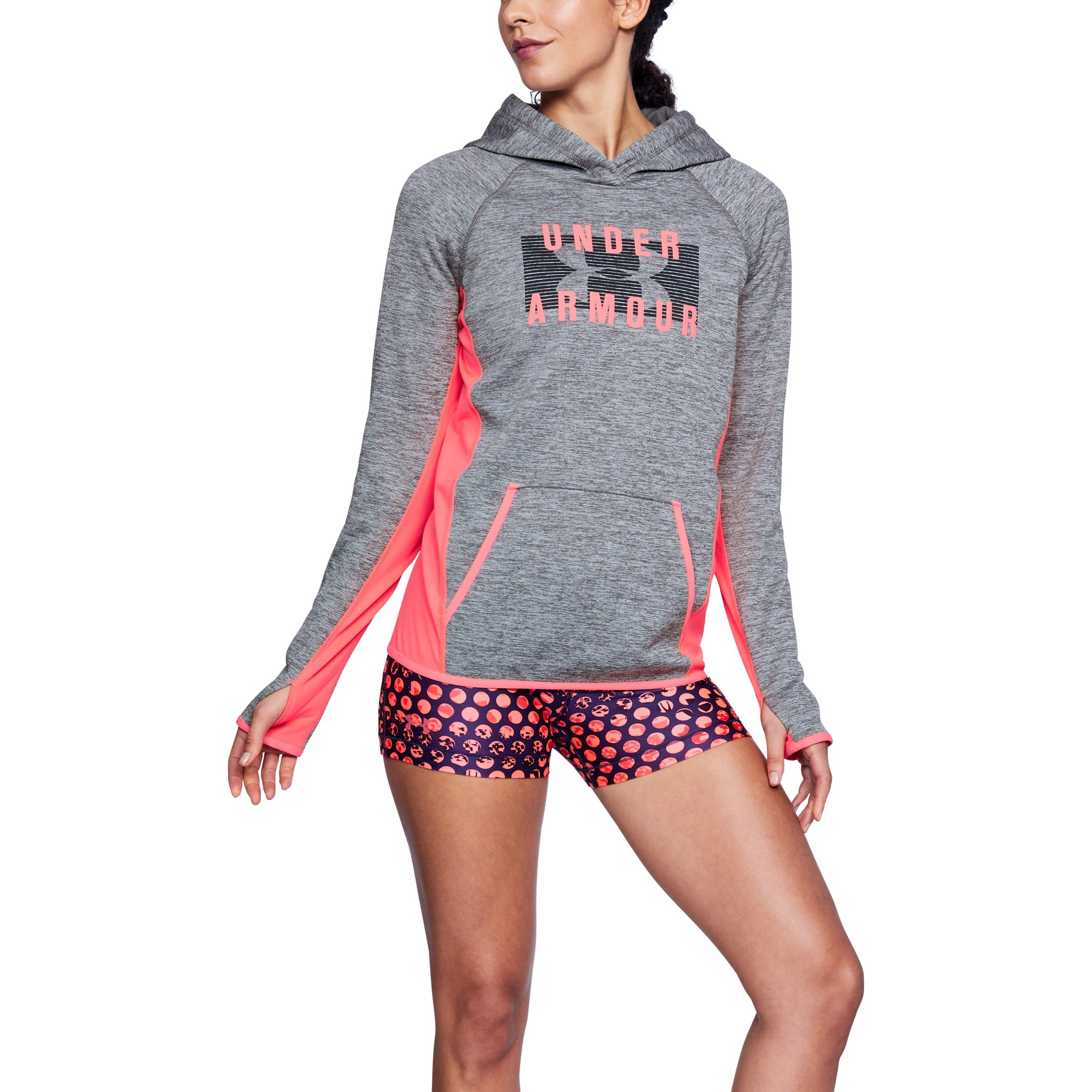 1884be88bdb2 Lyst - Under Armour Women s Ua Storm Armour Fleece® Big Logo Twist ...