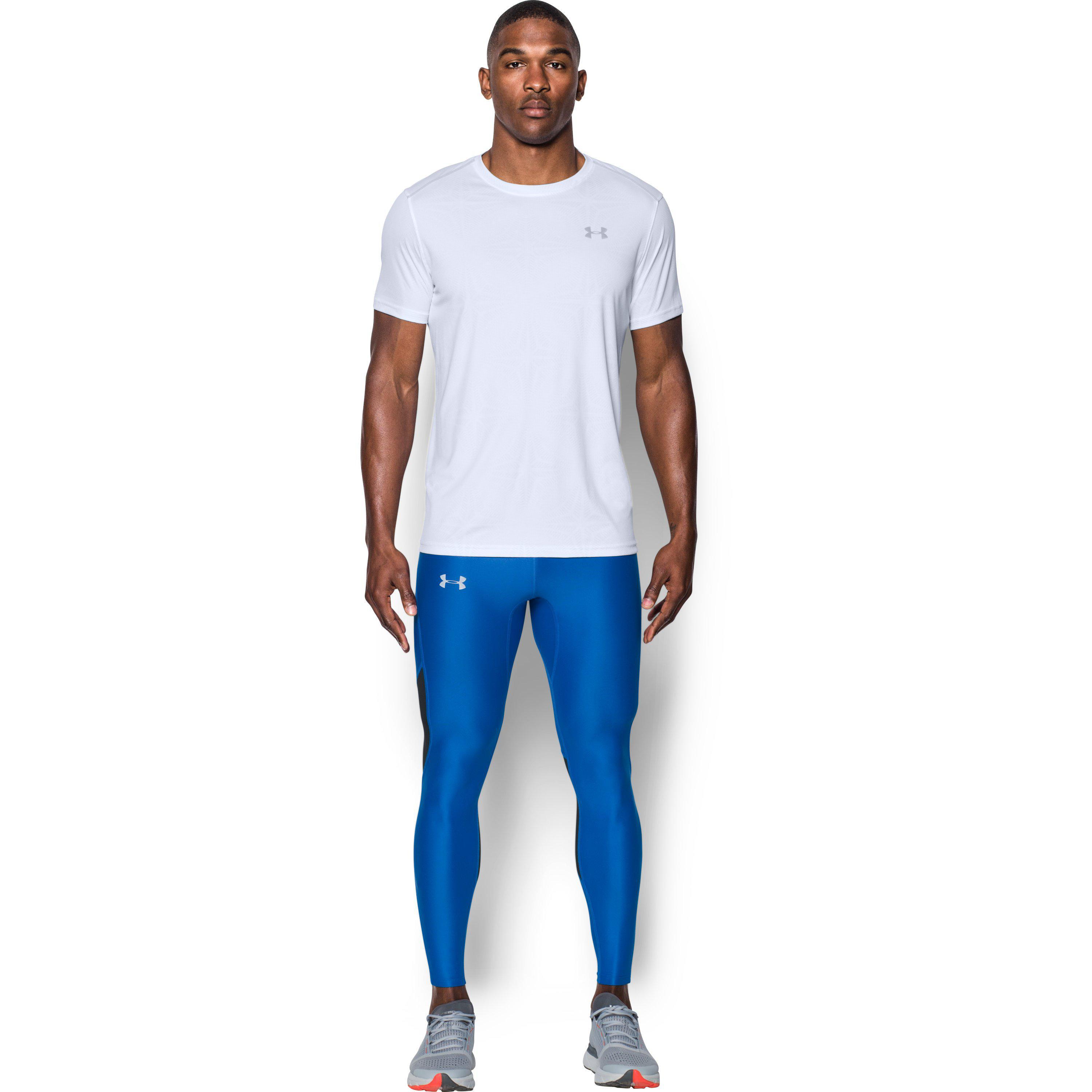 8b31042162 Under Armour Men's Ua Coolswitch Run Tights in Blue for Men - Lyst
