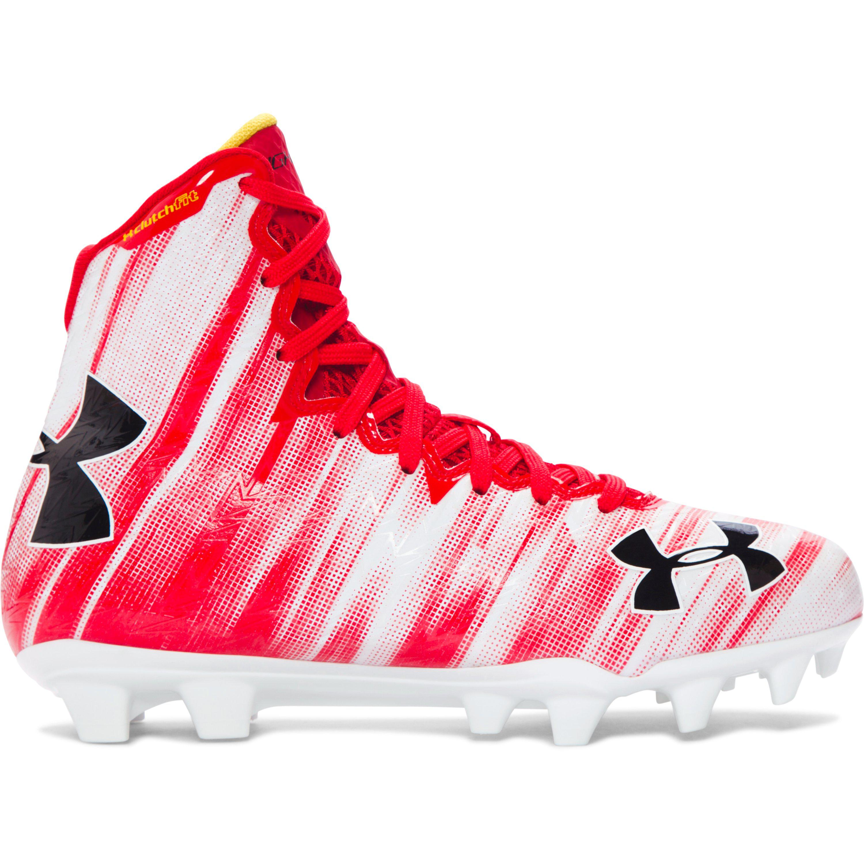 2b20623f057f Under Armour Women's Ua Highlight Mc Lacrosse Cleats in Red - Lyst