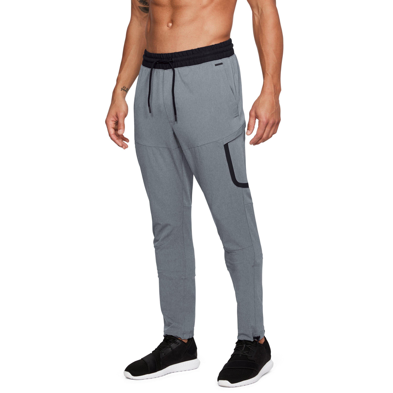 Under Armour Gray Men's Ua Unstoppable Woven Cargo Pants for men