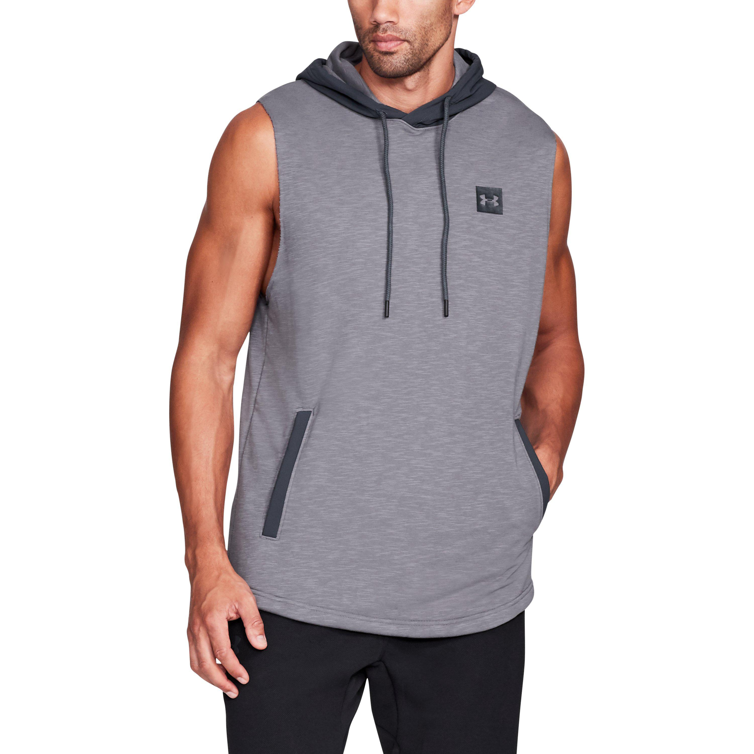 09d38ad70 Under Armour Men's Ua Sportstyle Sleeveless Hoodie in Gray for Men ...