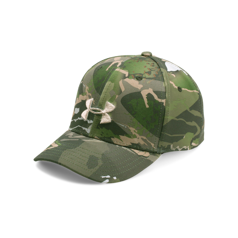 Lyst - Under Armour Women s Ua Camo Cap in Green 3b919aeee