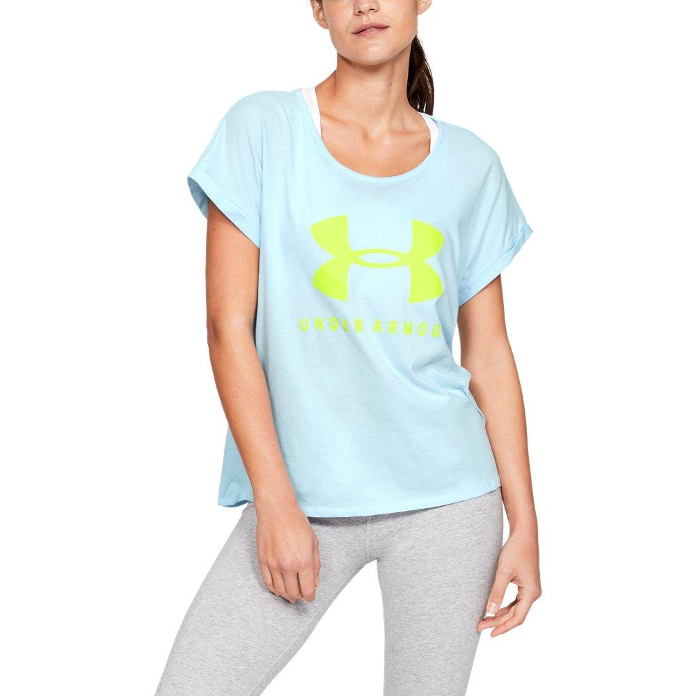 a97b823f Lyst - Under Armour Graphic Sportstyle Fashion in Blue