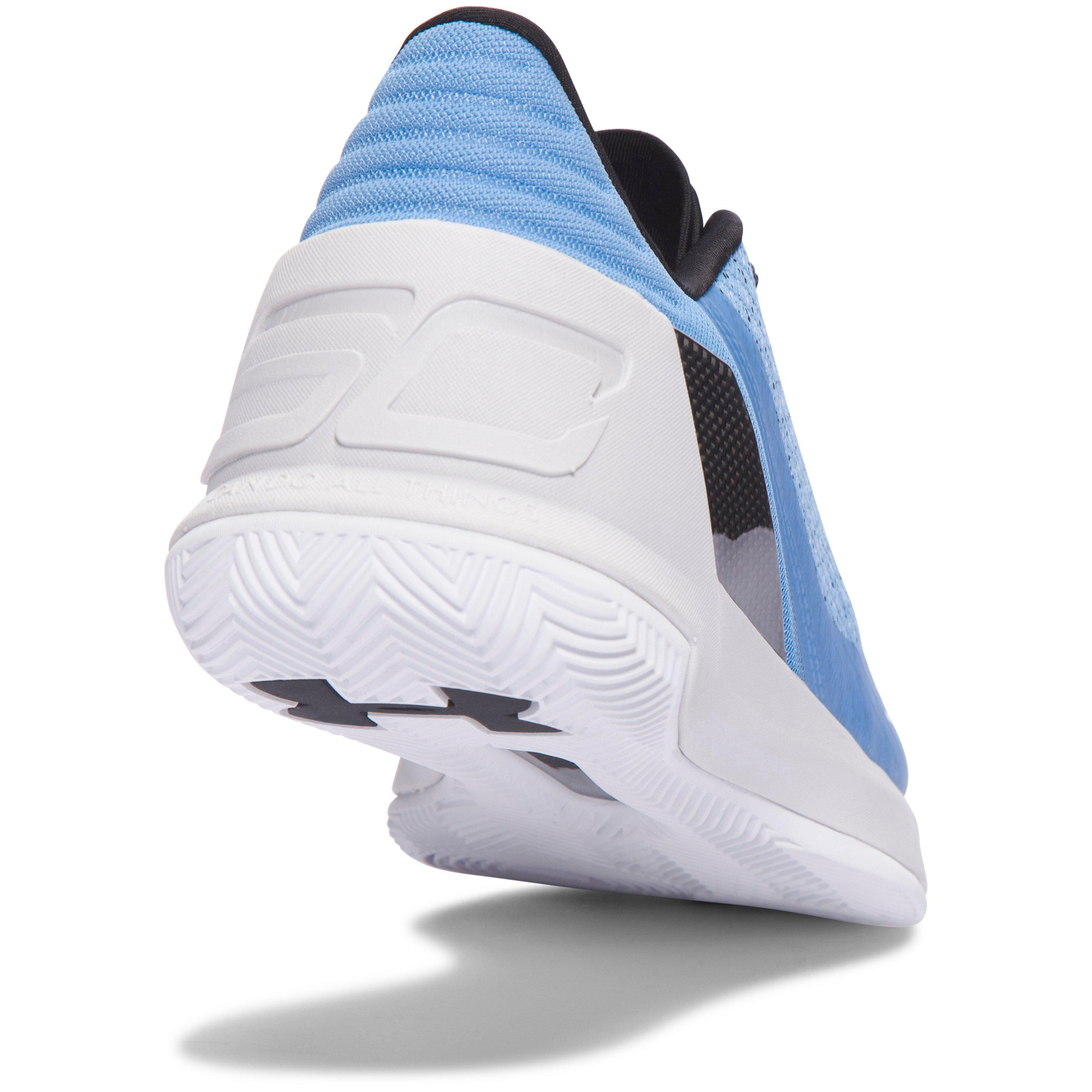 130857e4969c ... promo code for lyst under armour mens ua curry 3 low basketball shoes  in blue ffb8b