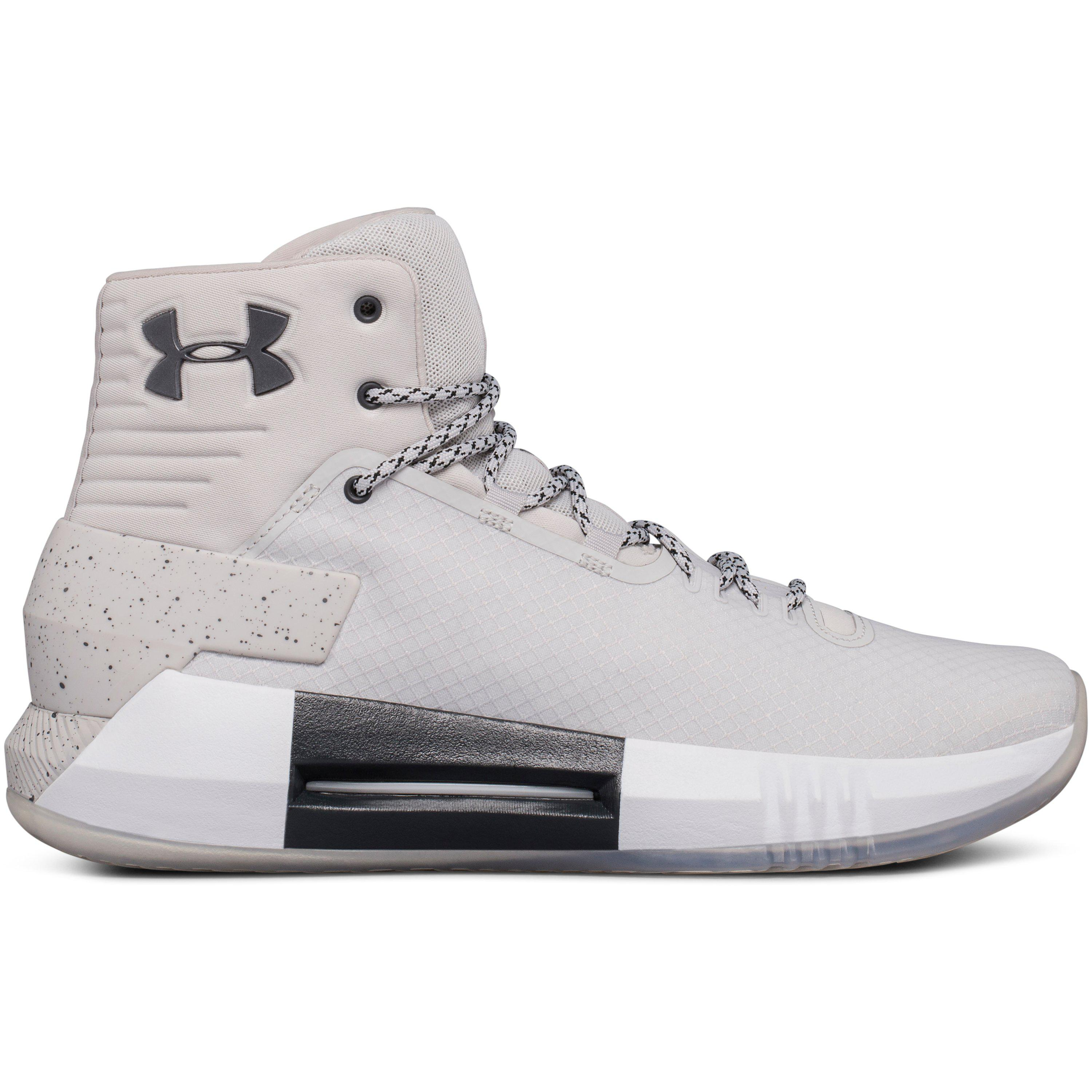 best sneakers 1a9d8 57379 Under Armour Men s Ua Drive 4 X Basketball Shoes in Gray for Men - Lyst