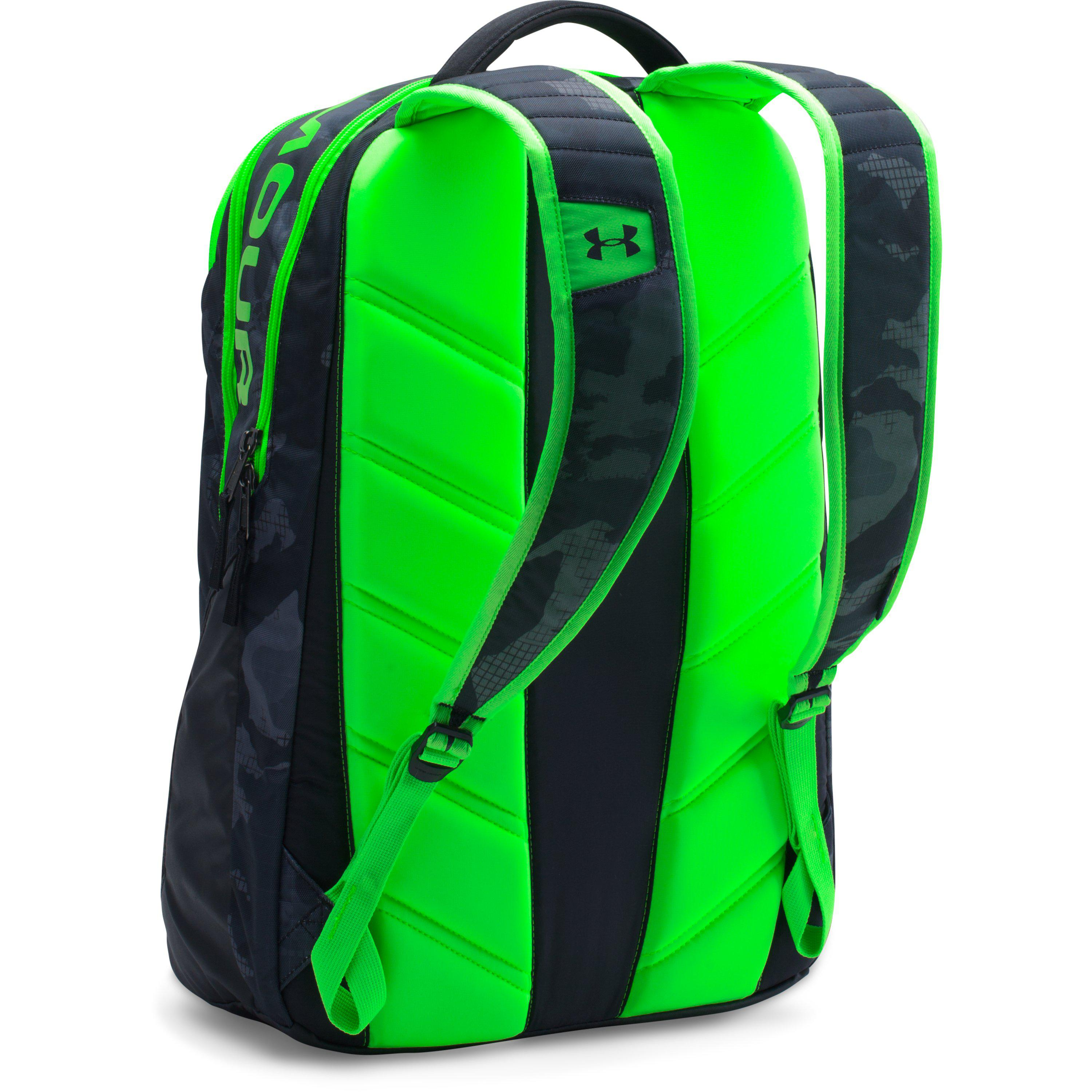 340e511b8859 Lyst - Under Armour Ua Storm Big Logo Iv Backpack in Green for Men