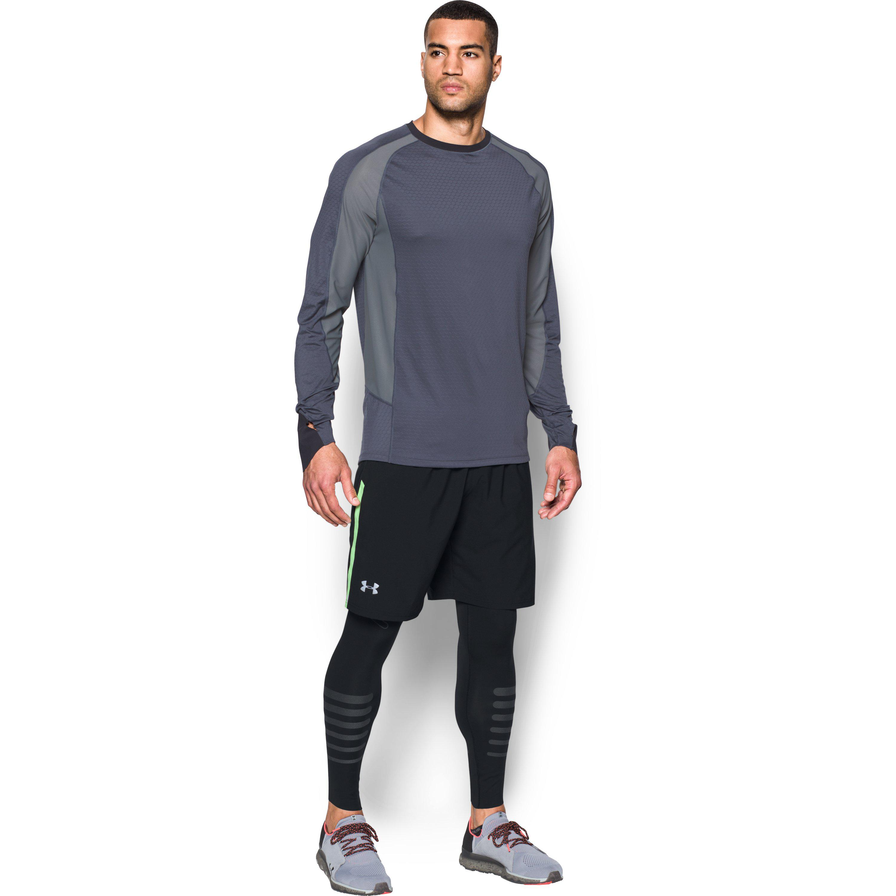 a9ae242b45 Under Armour Men's Ua Accelerate Reflective Leggings in Black for ...