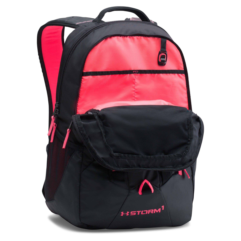 baa44128a6 Under Armour Black Mesh Backpack- Fenix Toulouse Handball