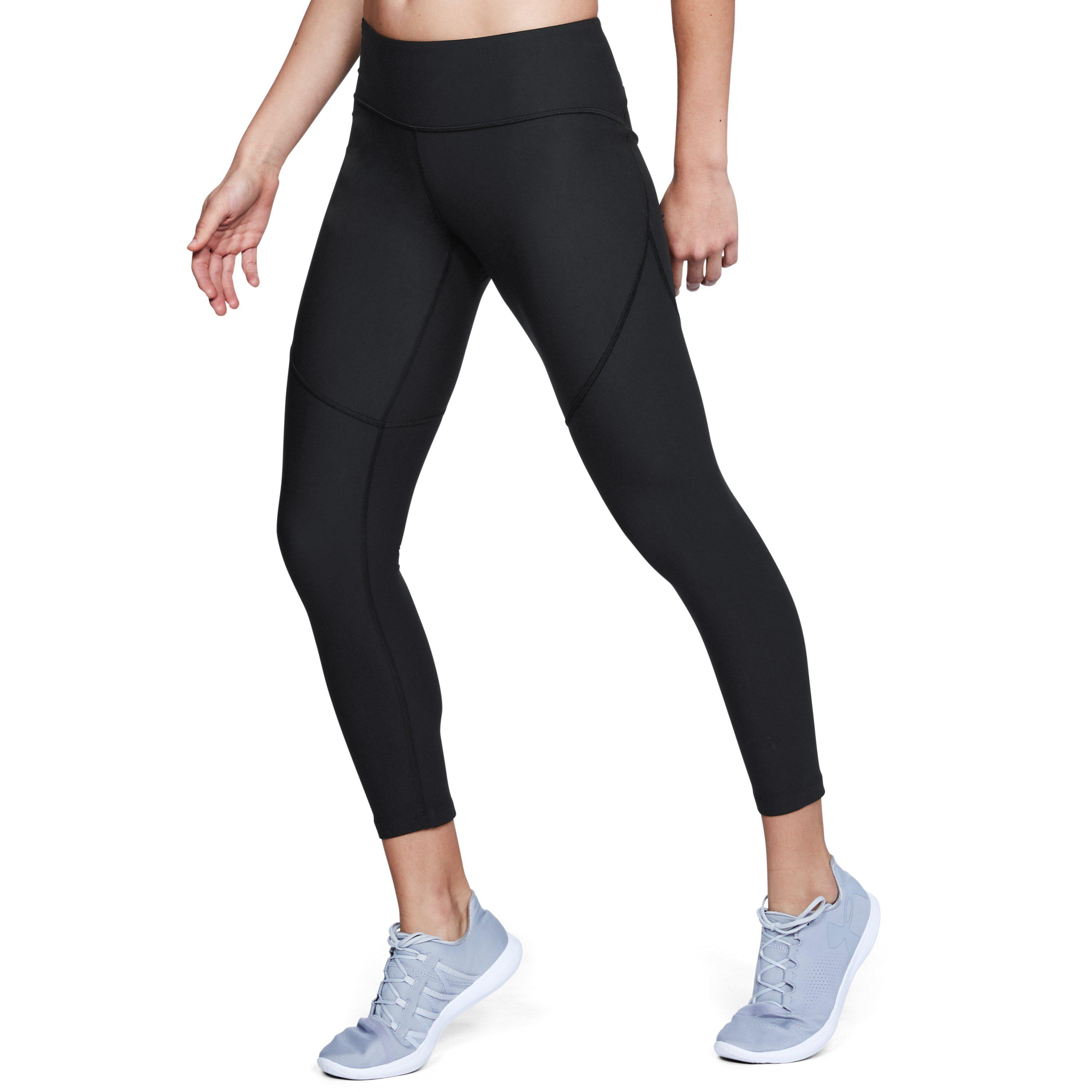 d733b5f55d Under Armour Women's Ua Vanish Crop in Black - Lyst