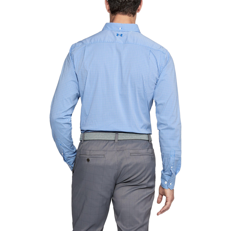 7d55f761da0 Under Armour Men s Ua Performance Woven Shirt in Blue for Men - Lyst