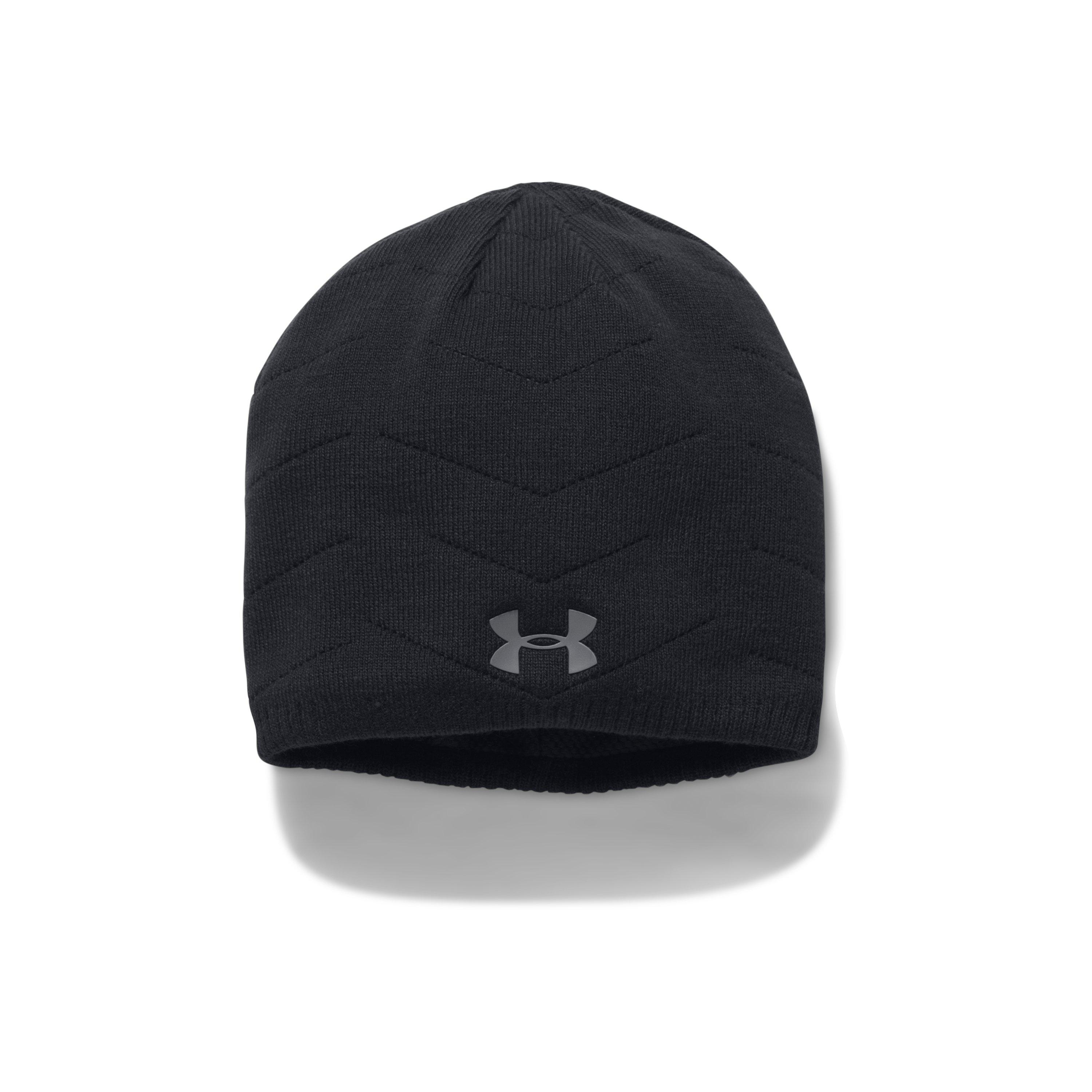 65a45f5f174 Lyst - Under Armour Men s Ua Knit Reactor Beanie in Black for Men