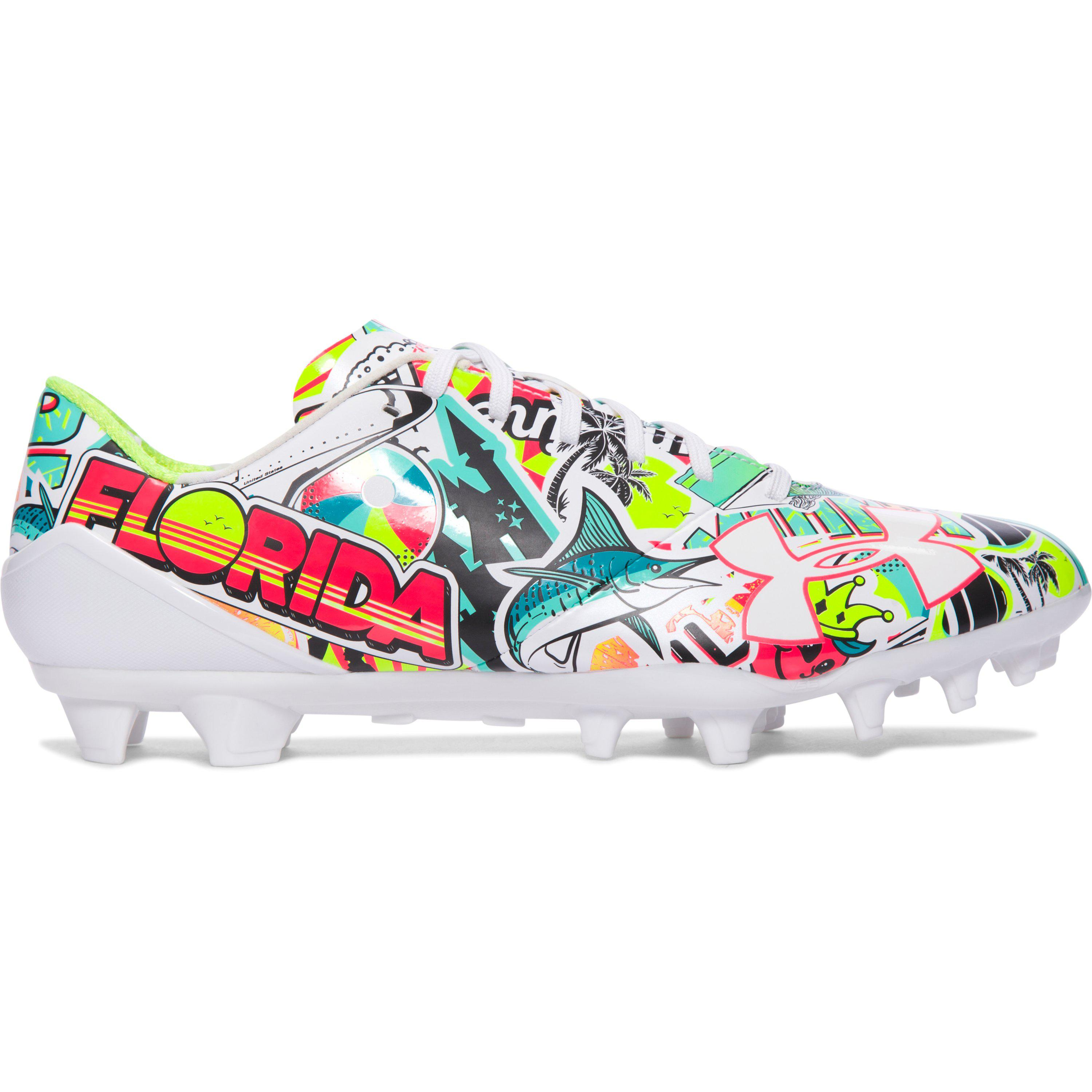 100334c24 Under Armour Men s Ua Spotlight – Limited Edition Football Cleats ...