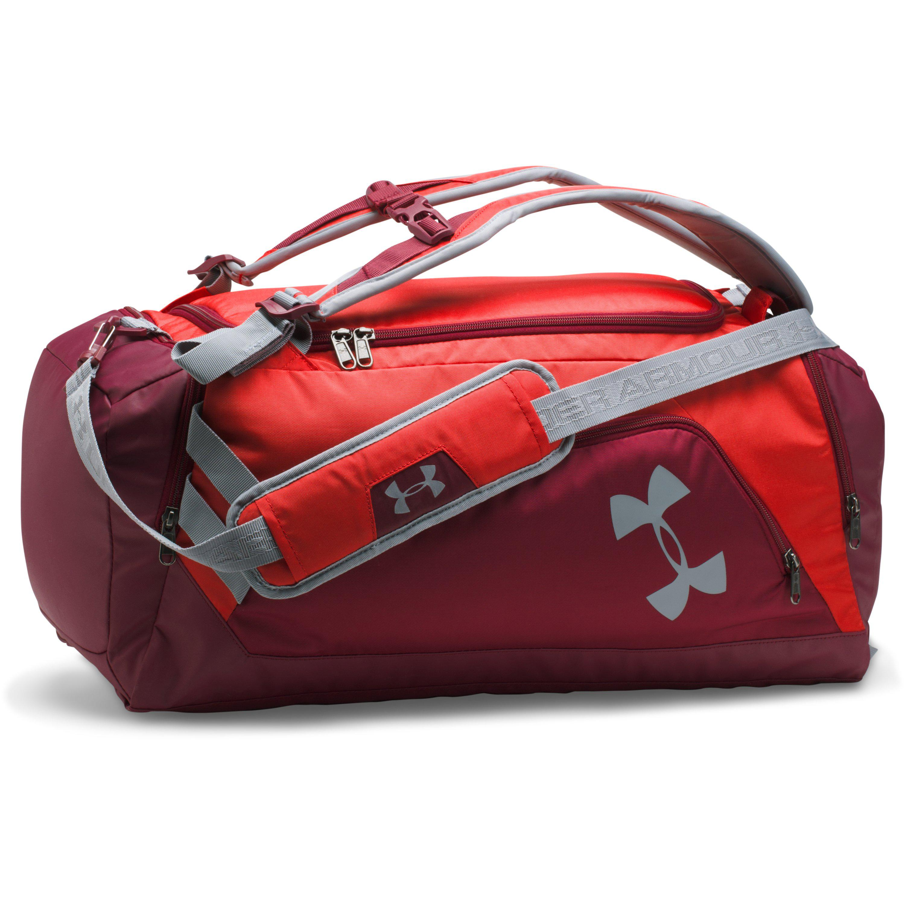 35ff7b0f0267 Lyst Under Armour Ua Storm Undeniable Backpack Duffle Um In Red