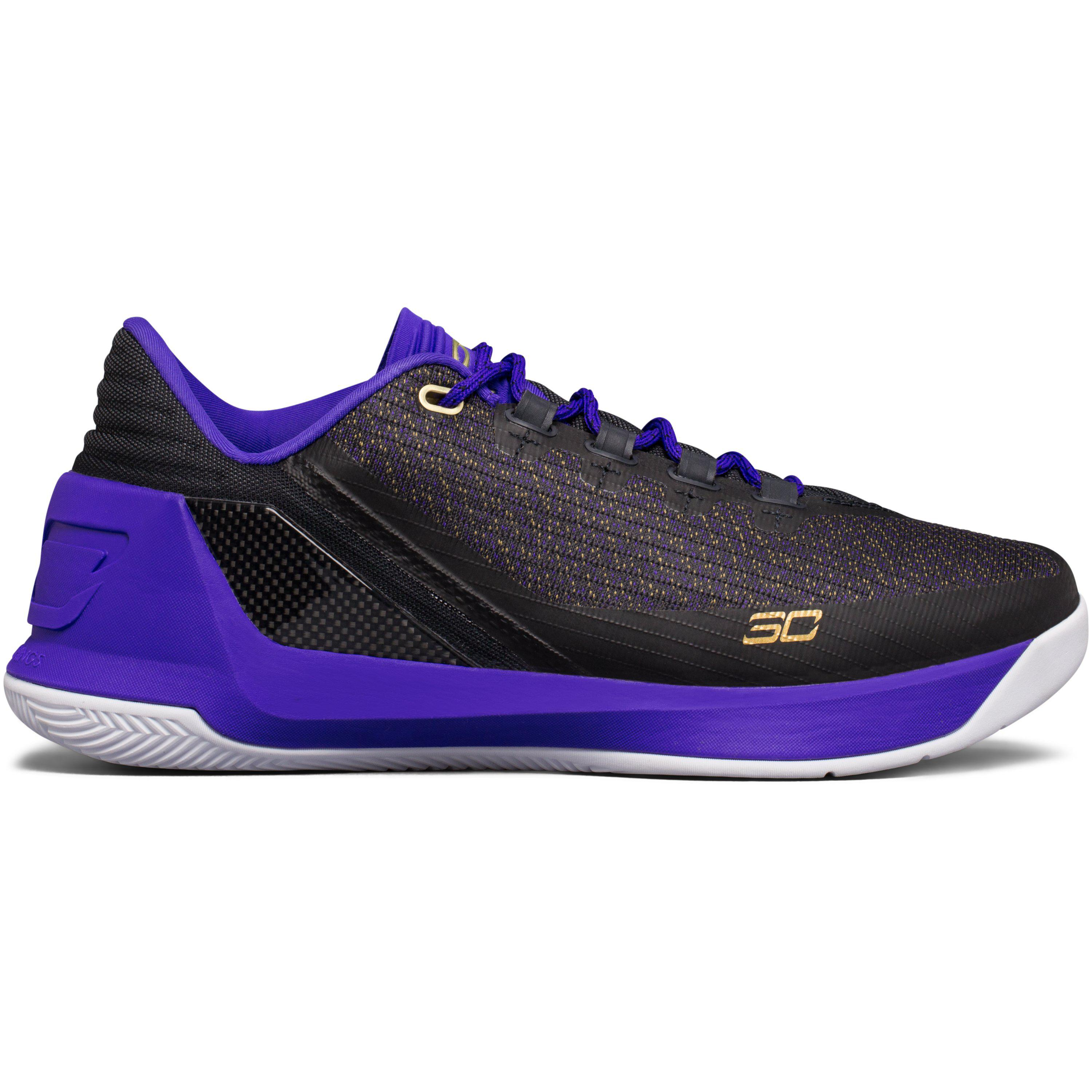 79c93c469bf0 ... discount code for lyst under armour mens ua curry 3 low basketball shoes  in purple 01450