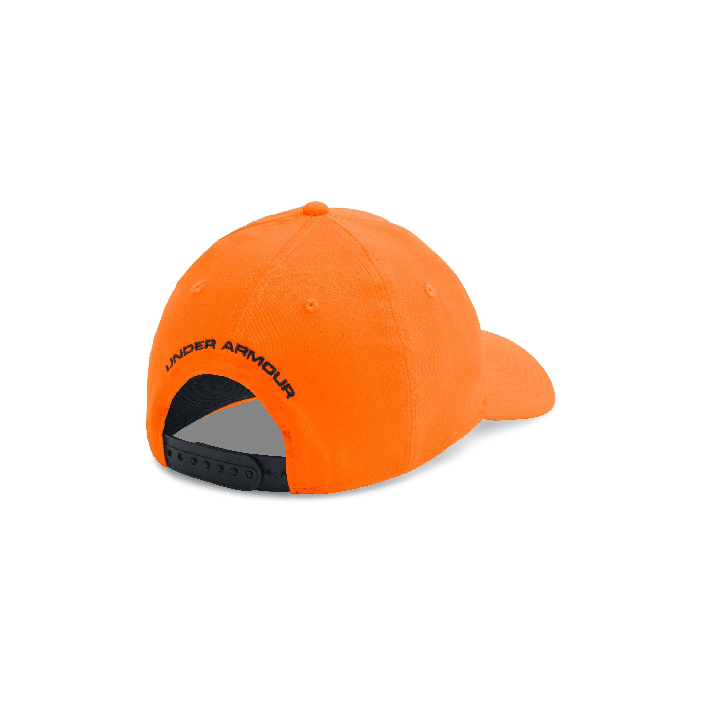 4946c95125f ... low price under armour orange mens ua camo cap for men lyst. view  fullscreen ba8c1