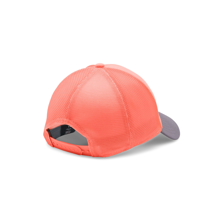 9e542ffe08d ... greece lyst under armour womens ua fish hook mesh cap in pink 8b0f6  9440e