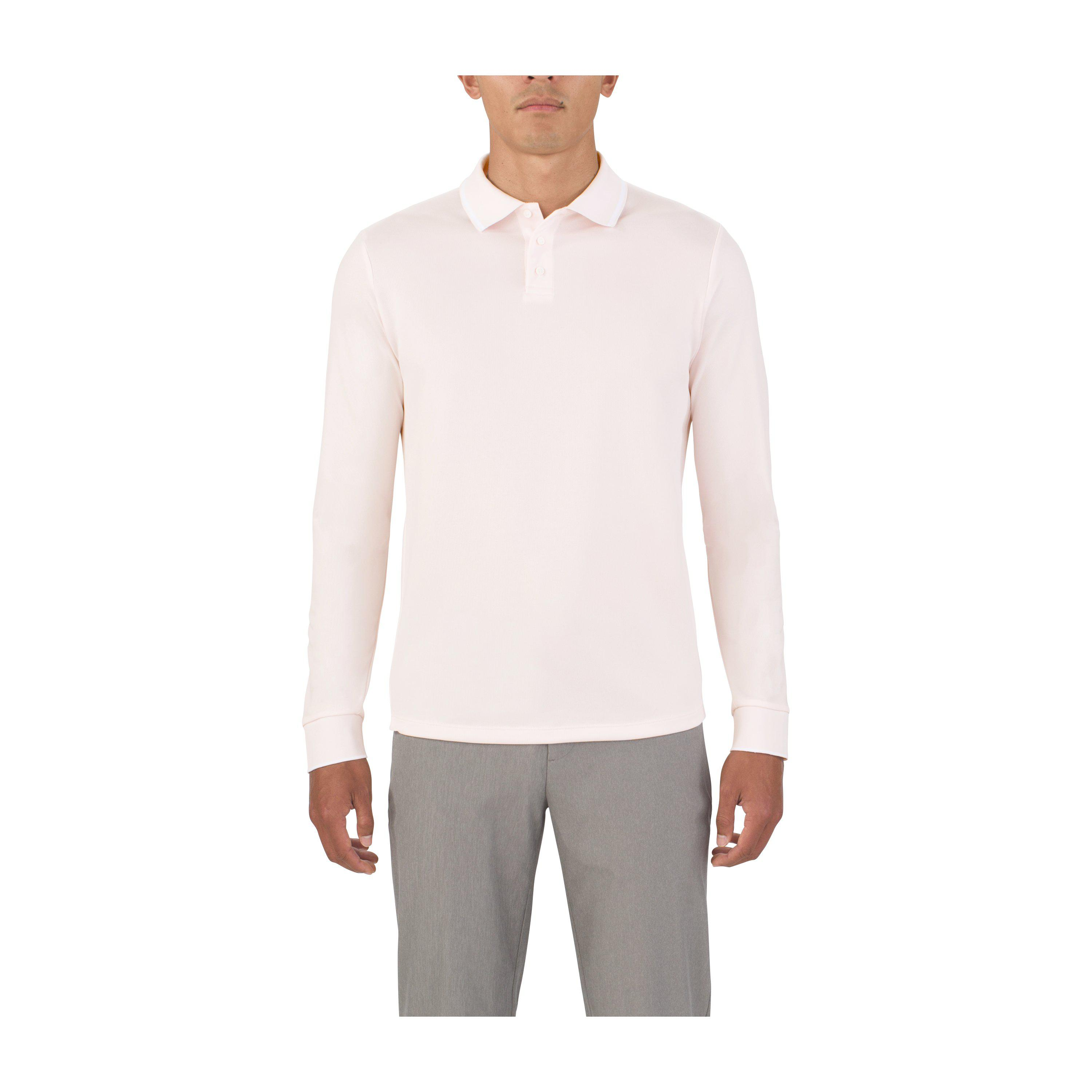 Lyst Under Armour Mens Uas Pique Long Sleeve Polo For Men