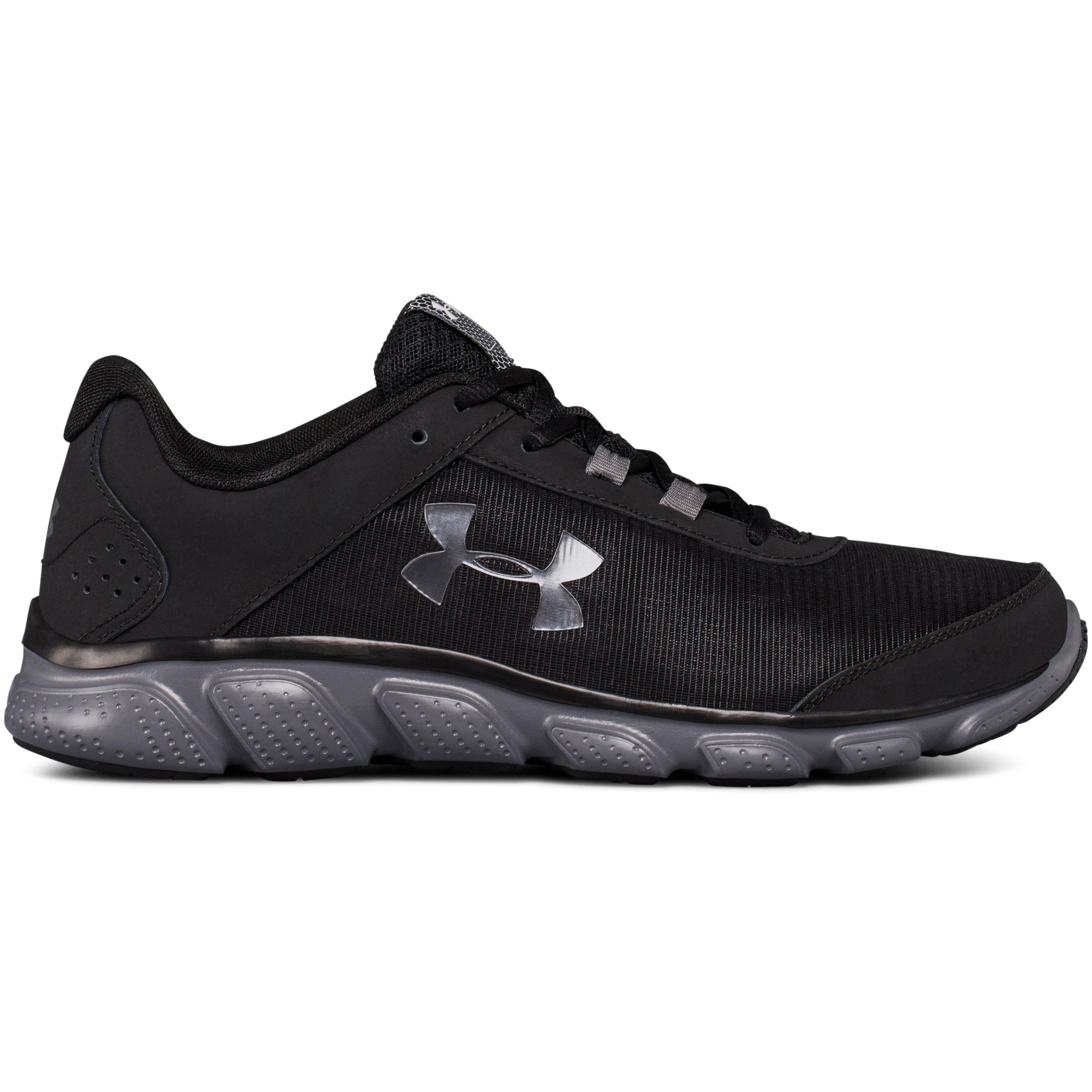 b510a0aabf Under Armour Men's Ua Micro G® Assert 7 Running Shoes in Black for ...