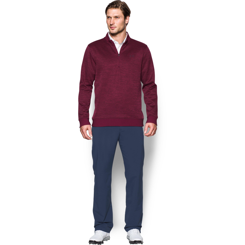 9208a81c7ac0f Under Armour Men's Ua Storm Sweaterfleece Herringbone 1⁄4 Zip for ...