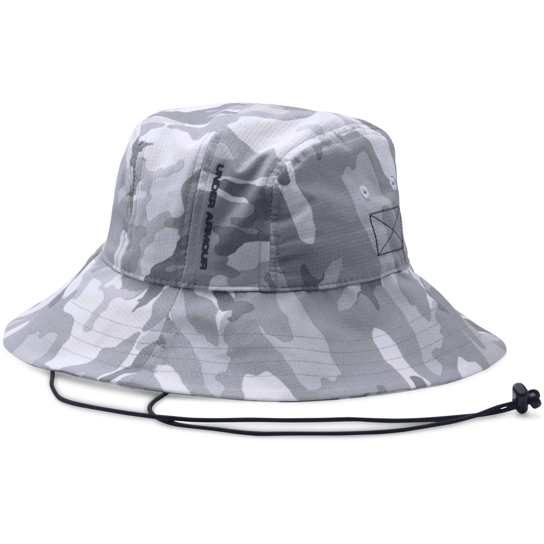 9481268f Under Armour Men's Ua Armourventtm Bucket Hat in Gray for Men - Lyst
