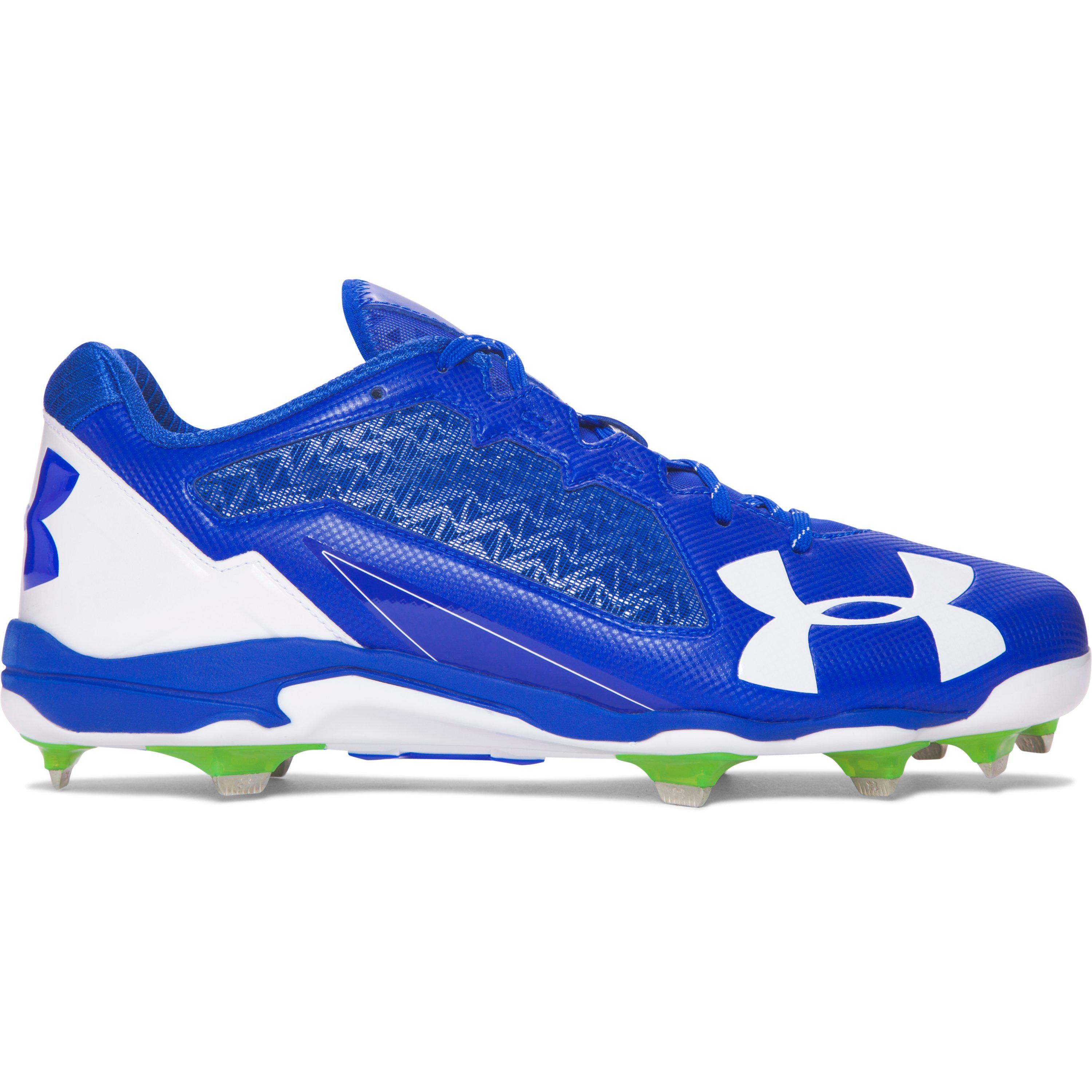 Under Armour. Men's Blue Deception Low Diamondtips