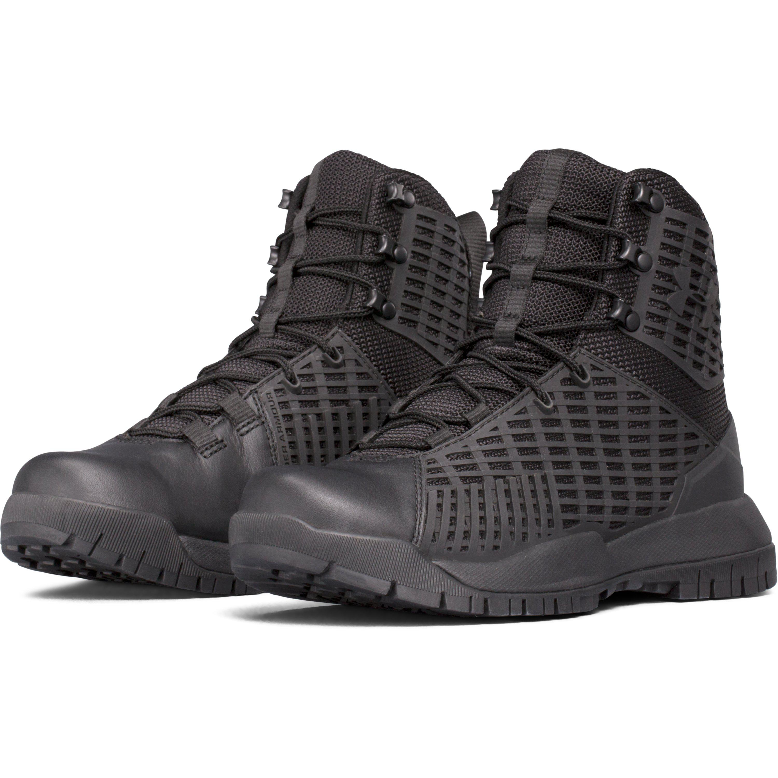 Lyst - Under Armour Women s Ua Stryker Tactical Boots in Black 81a3c5774a
