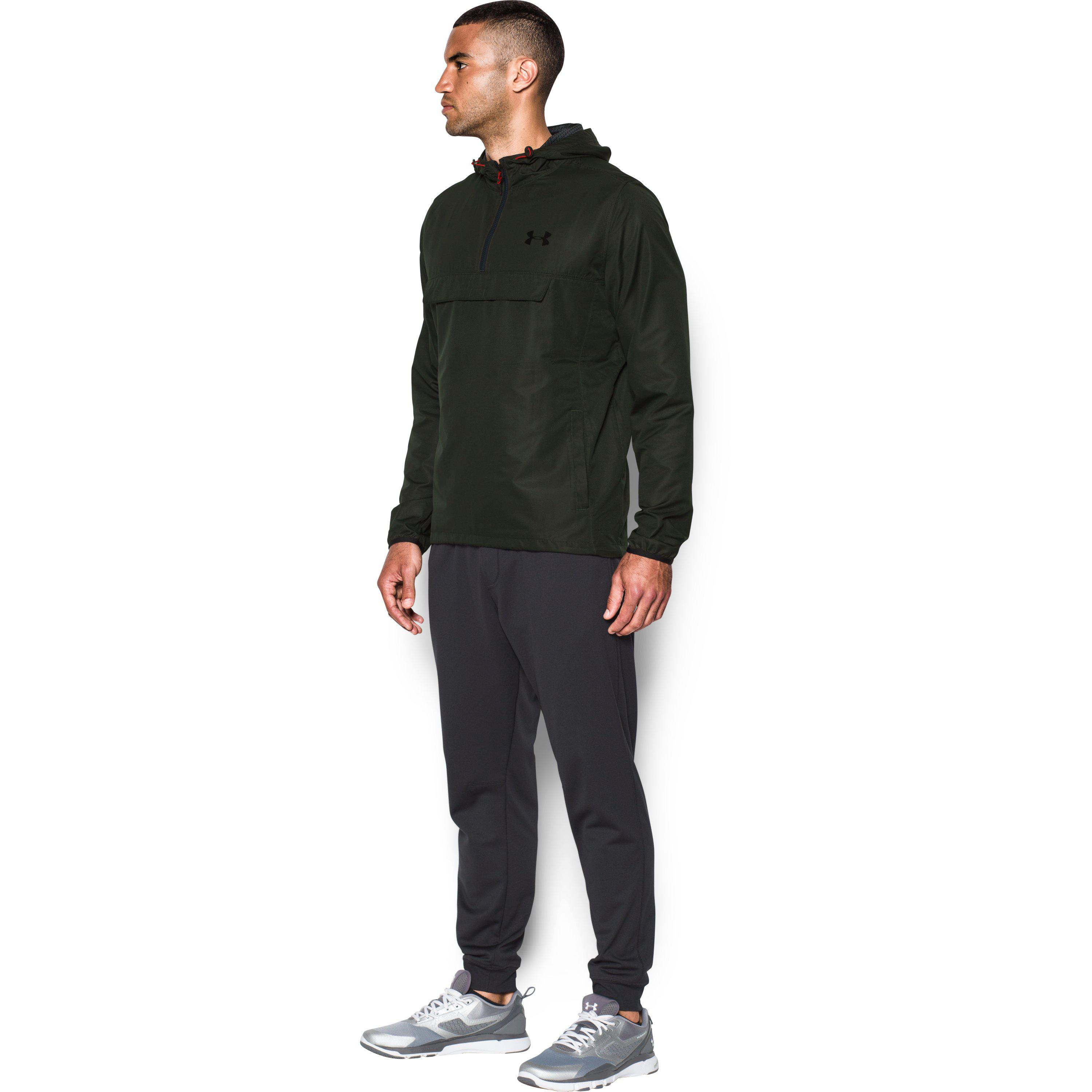 a6bd677e122d Lyst - Under Armour Men s Ua Sportstyle Anorak in Green for Men