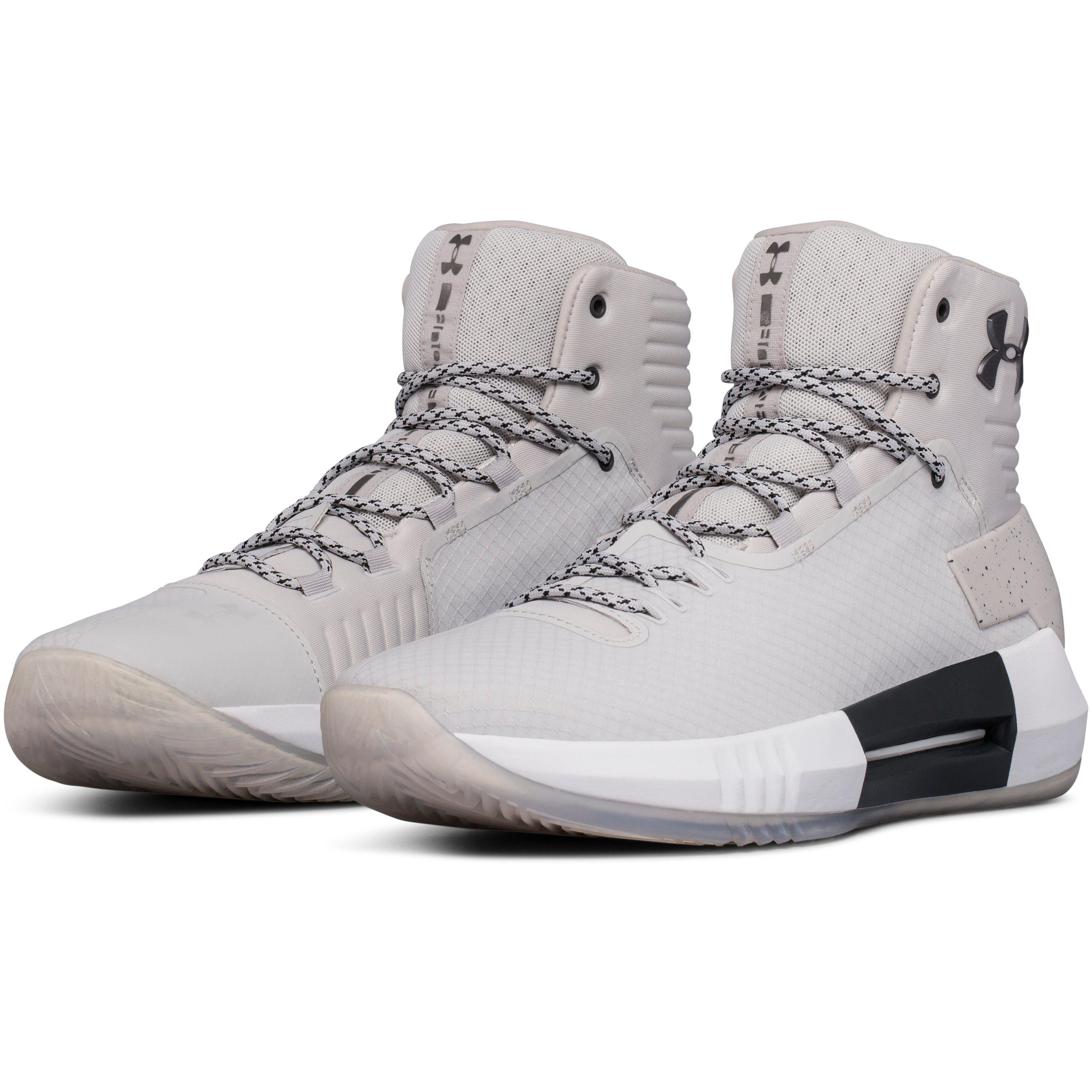 9c4249225538 ... Lyst Under Armour Men s Ua Drive 4 X Basketball Shoes in Gray for Men
