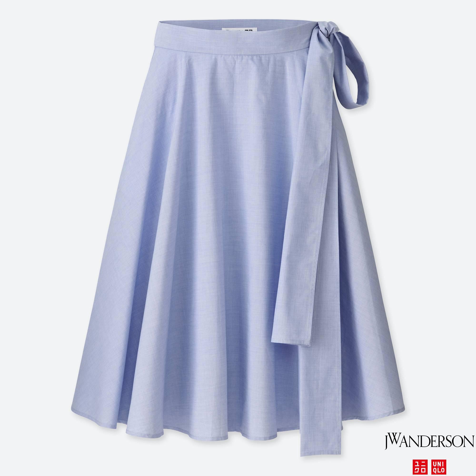 c8ecf6a938 High Waist Flared Mini Skirt Uniqlo
