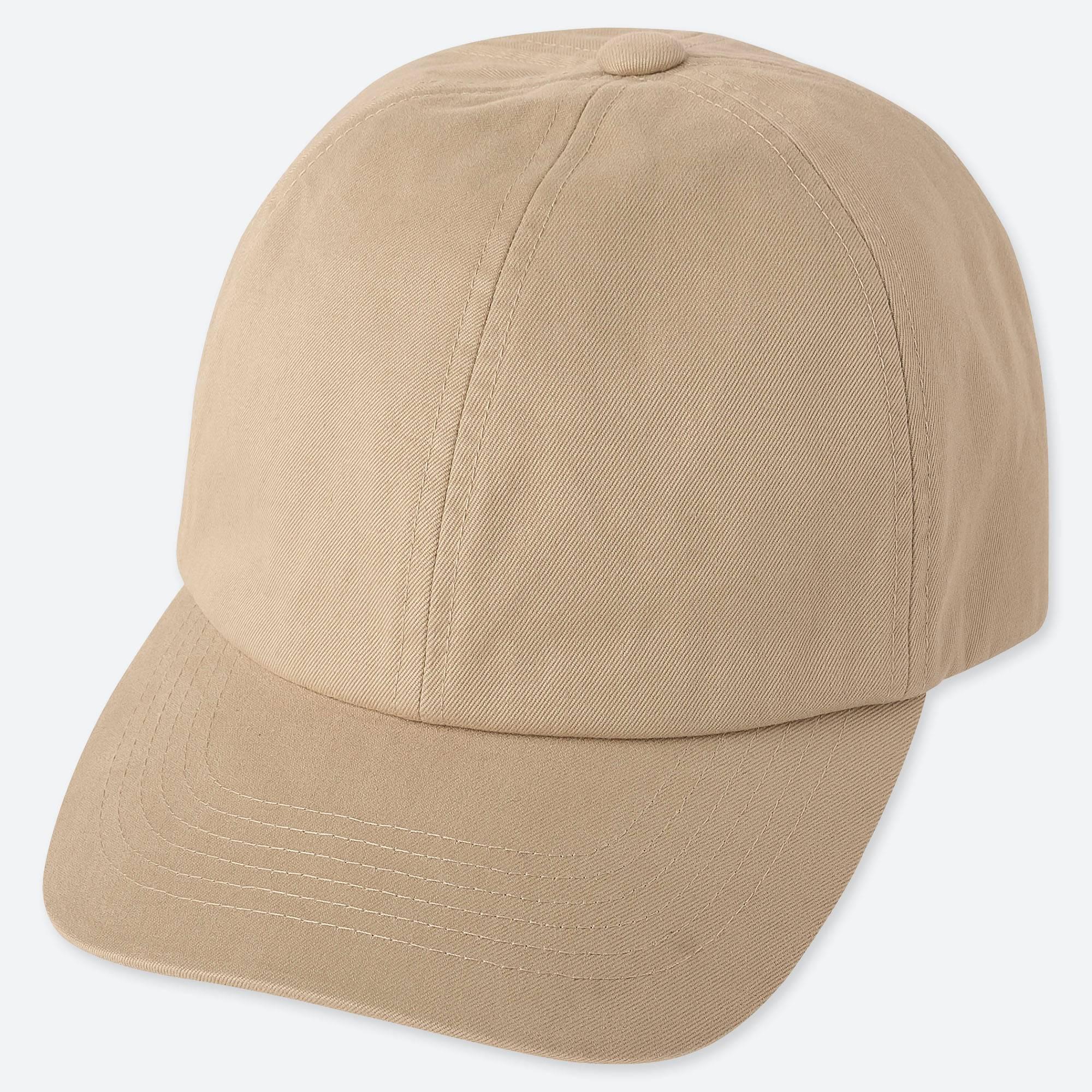 Lyst - Uniqlo Cotton Twill Cap in Natural for Men 654812ca92e4