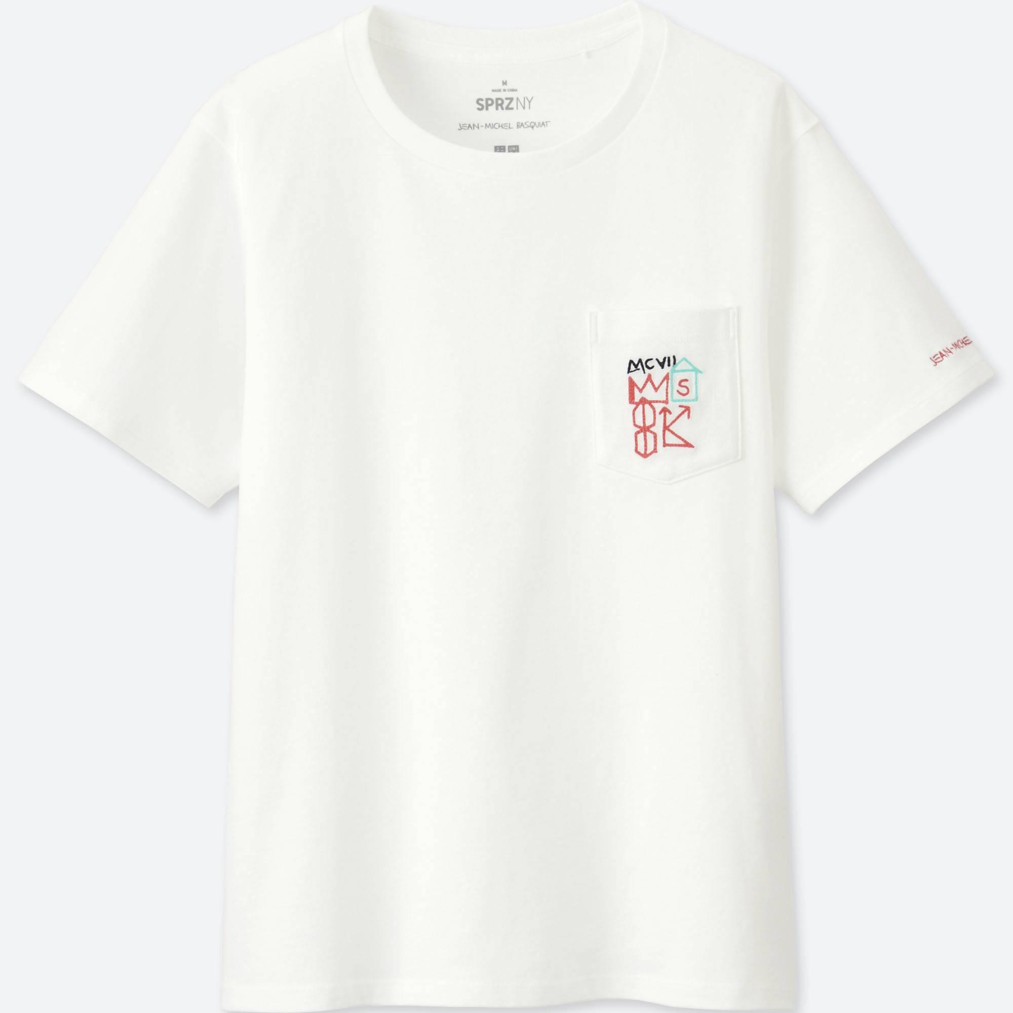 9650515b421e Lyst - Uniqlo Women Sprz Ny Graphic T-shirt (jean-michel Basquiat ...