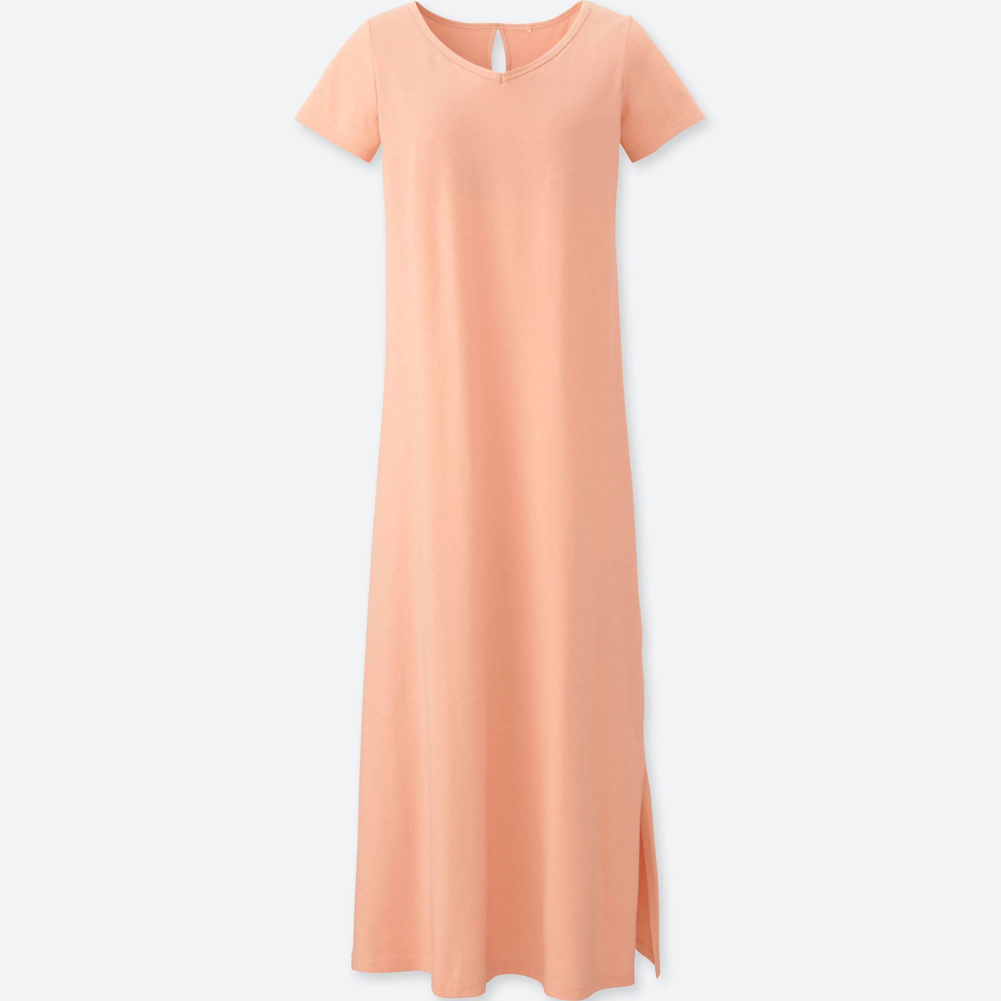 c12c29abec Lyst - Uniqlo Women Short-sleeve Easy Bra Dress