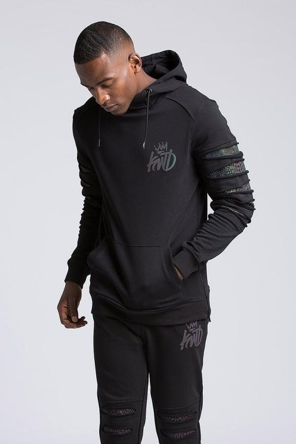 Kings Will Dream Marlow Overhead Hoodie in Black for Men - Lyst 7e070f9c000a