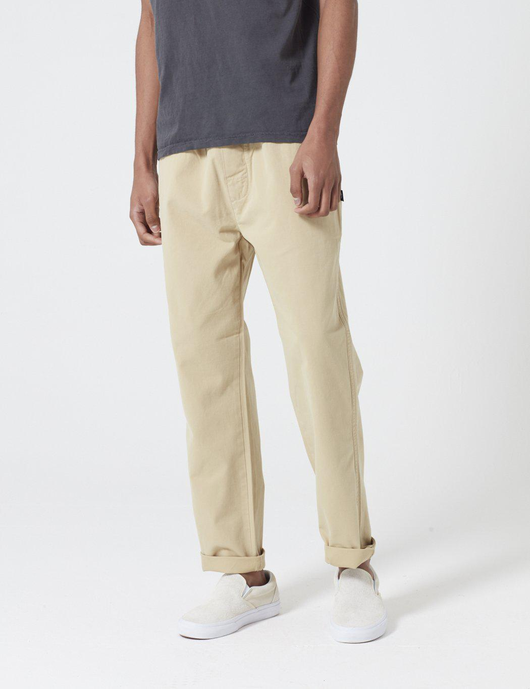 3134c73685 Stussy Brushed Beach Pant in Natural for Men - Lyst