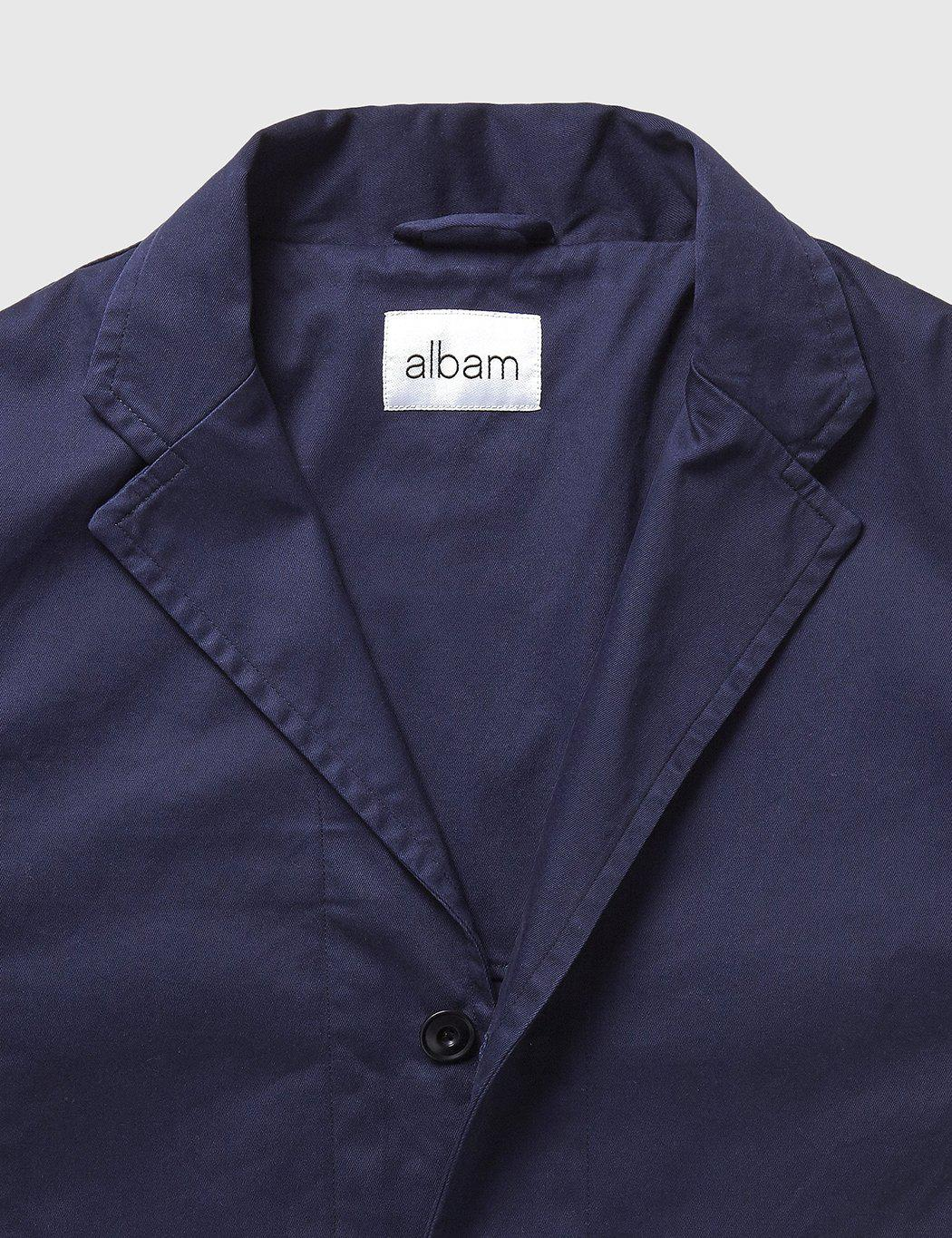 Albam Casual Blazer In Blue For Men Lyst