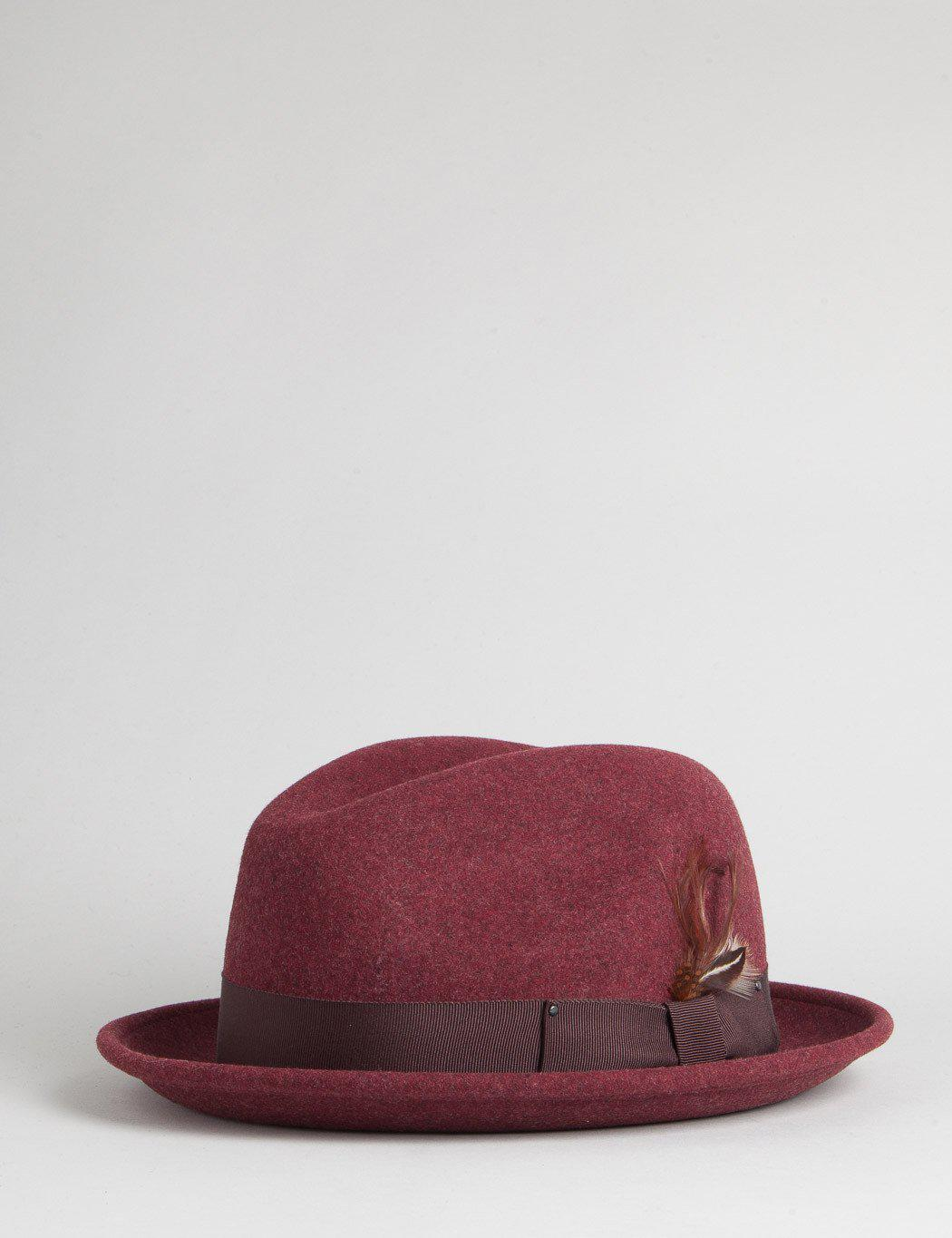 Lyst - Bailey of Hollywood Bailey Tino Trilby Hat for Men 1e92f358b46