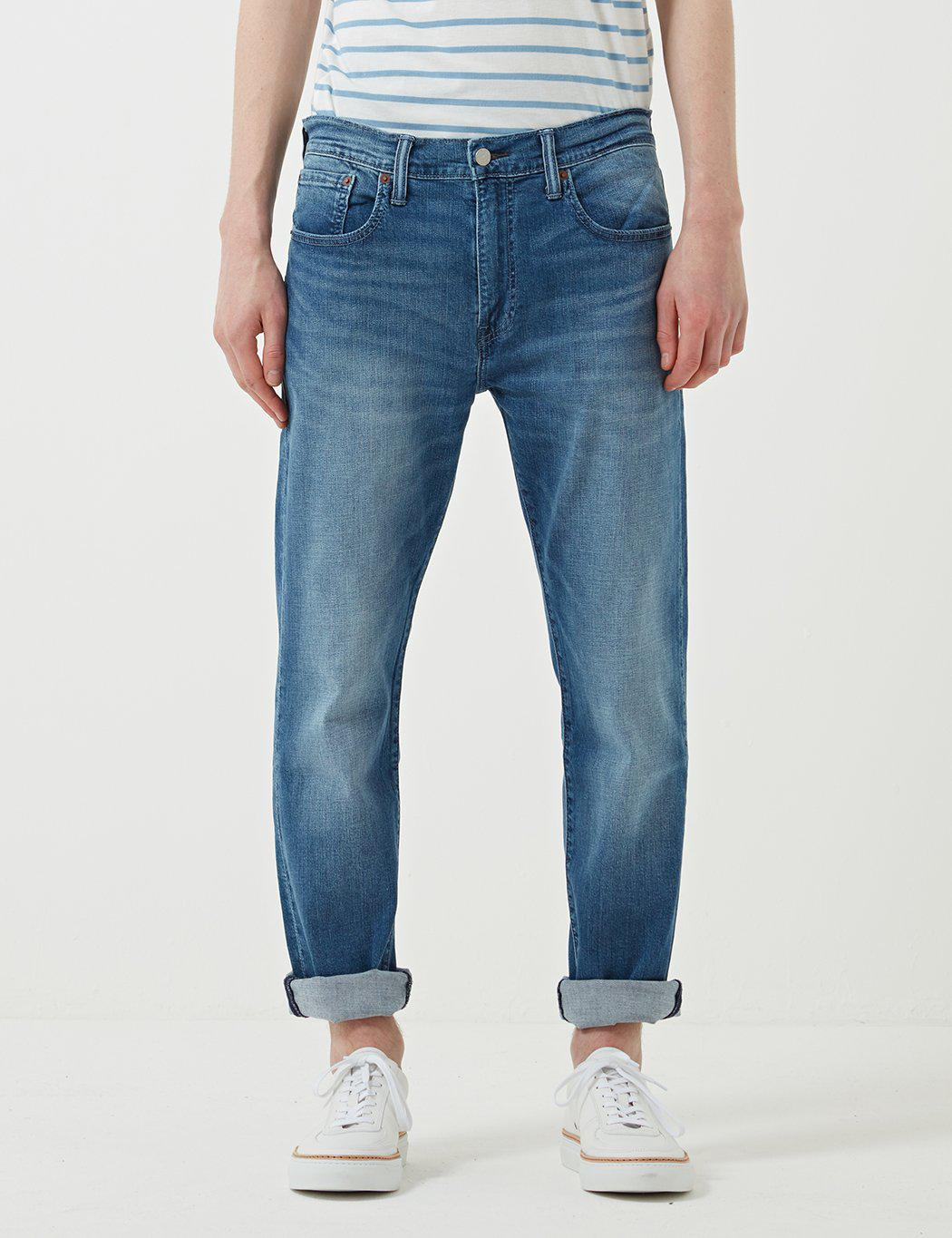 1dd6141a0ae Levi's 502 Jeans (relaxed Tapered) in Blue for Men - Lyst