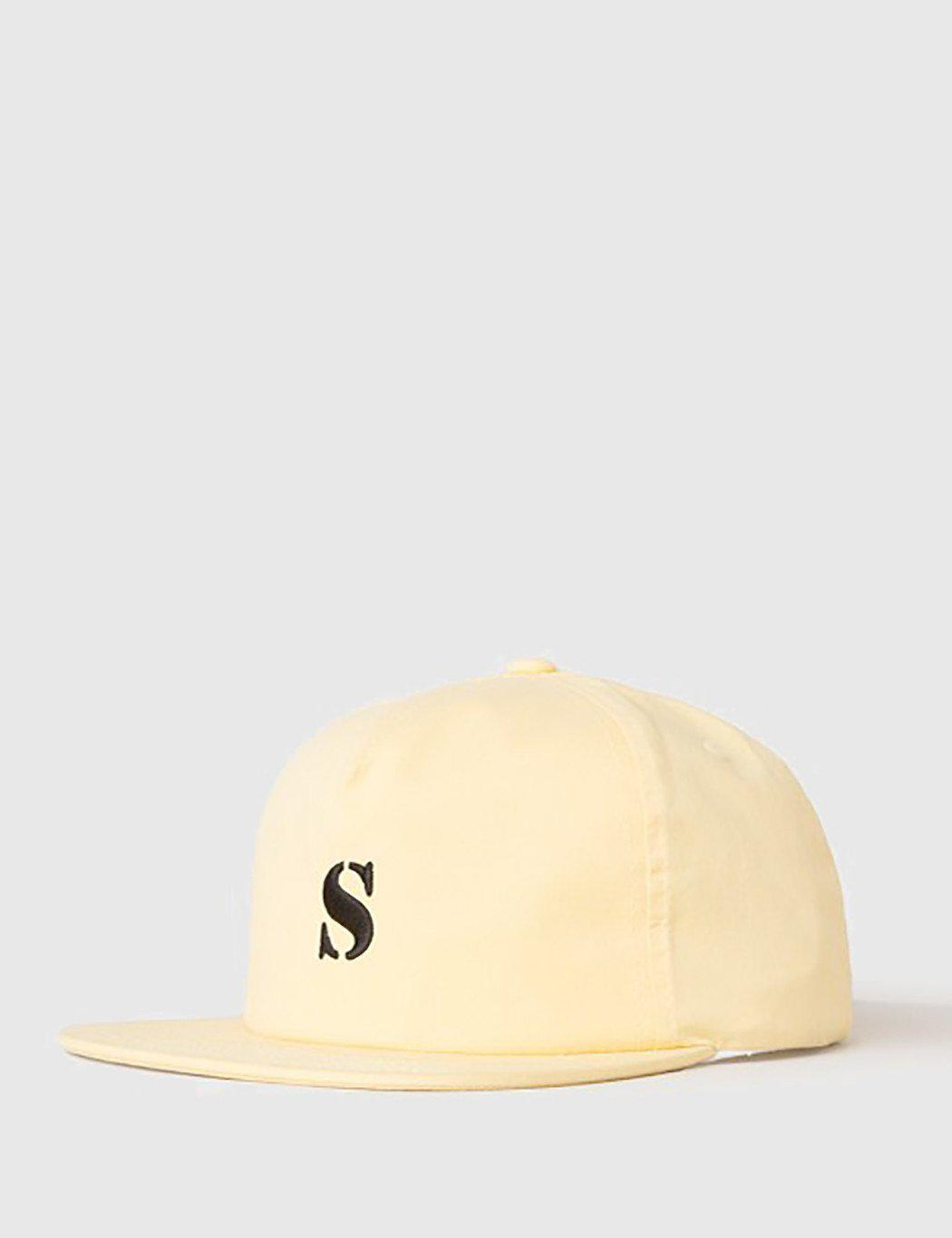 5ff4de64297cf Lyst - Stussy Bio Washed Cap in Yellow for Men