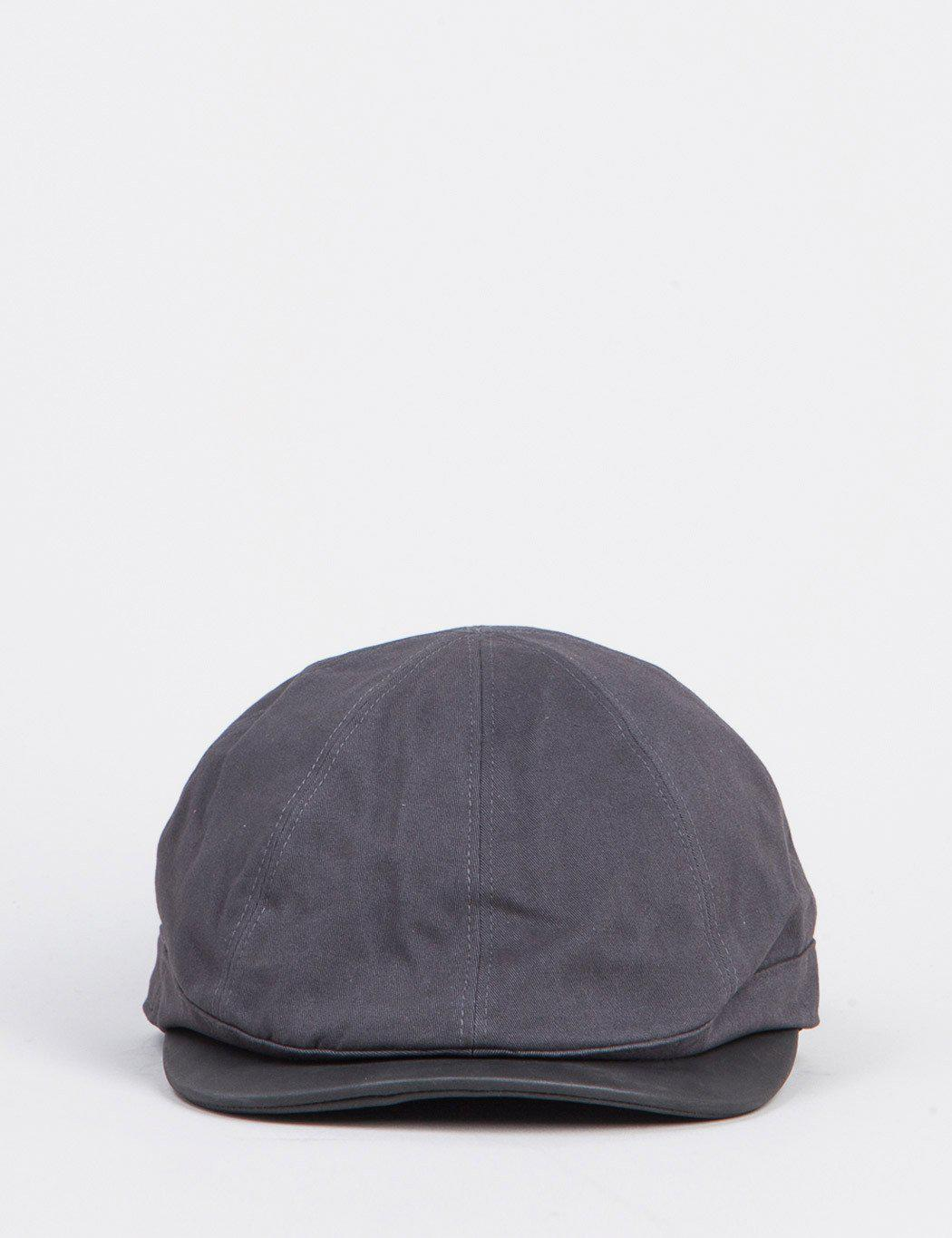 acb9c2d4 Bailey of Hollywood Bailey Rodis Leather Peak Flat Cap in Gray for ...