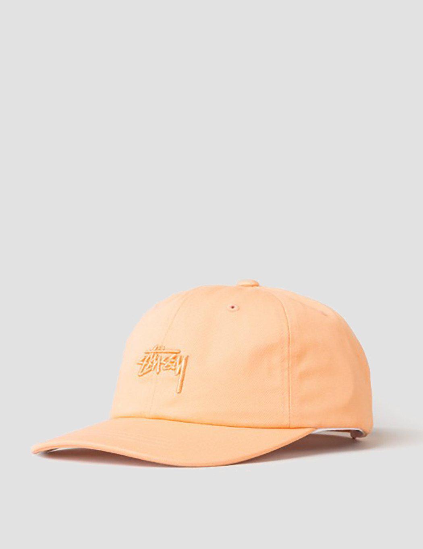 622fa017194 Stussy Tonal Stock Low Cap in Pink for Men - Lyst