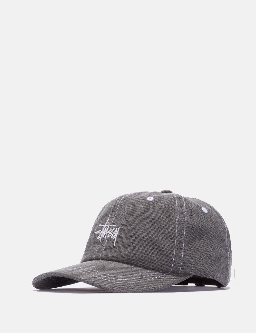 f9665577796 Stussy Washed Stock Low Cap in Black for Men - Lyst