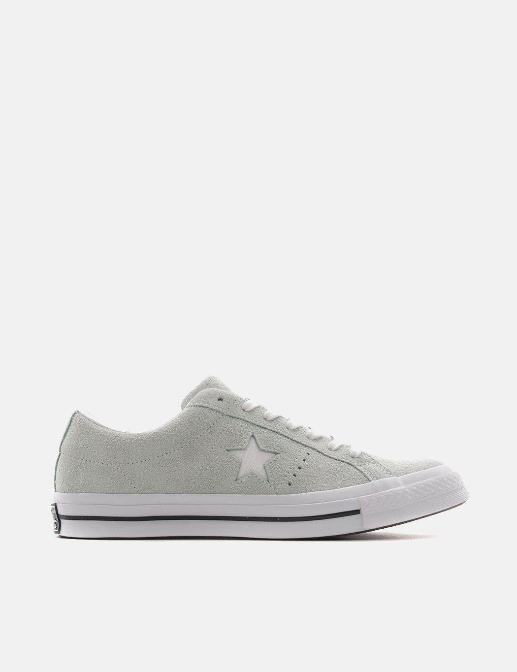 af458cfca2d011 Lyst - Converse One Star Ox Low Suede (159493c) in Green for Men