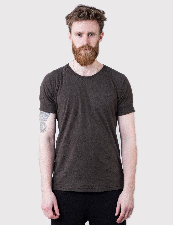 Lyst Han Kjobenhavn Raglan T Shirt In Black For Men