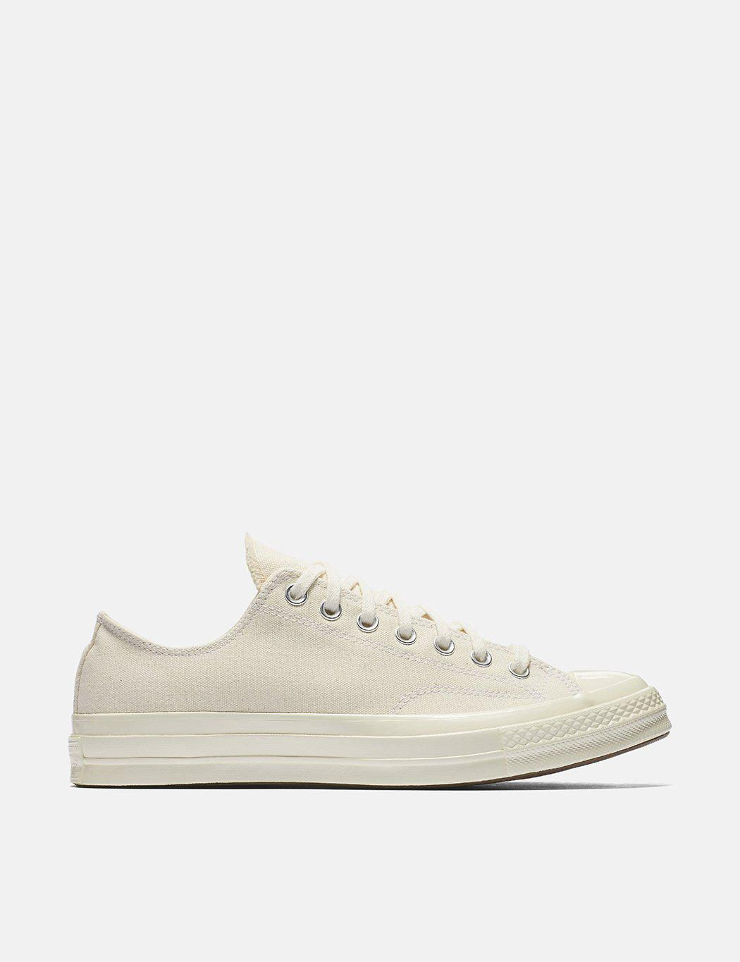 4444739b1470 Converse 70 s Chuck Taylor Low 151230c (canvas) in Natural for Men ...