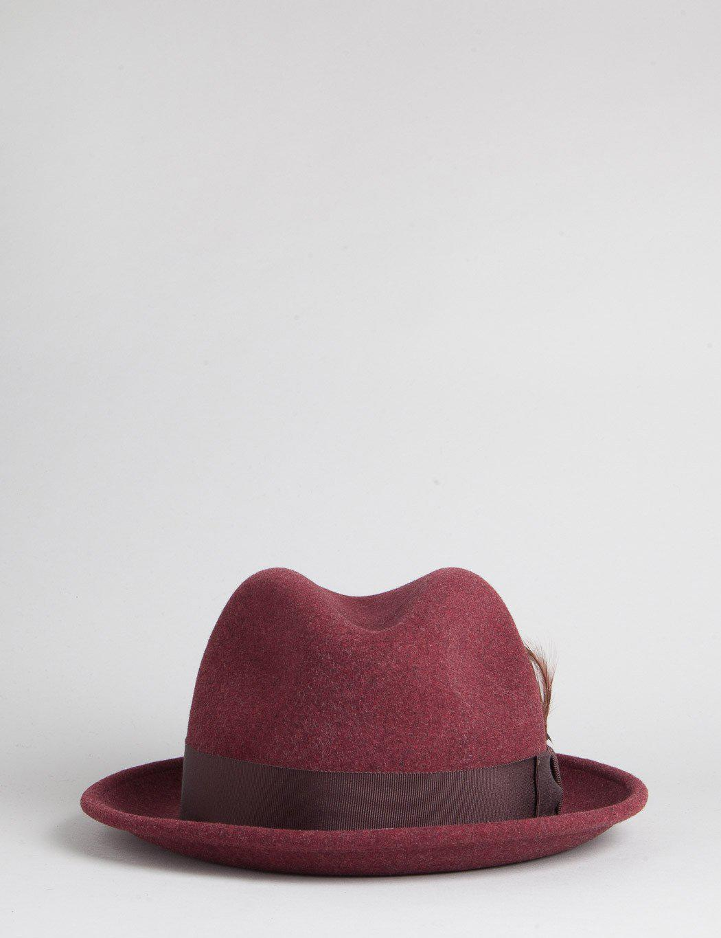 bca902e1e38f9 Bailey of Hollywood Bailey Tino Trilby Hat for Men - Lyst